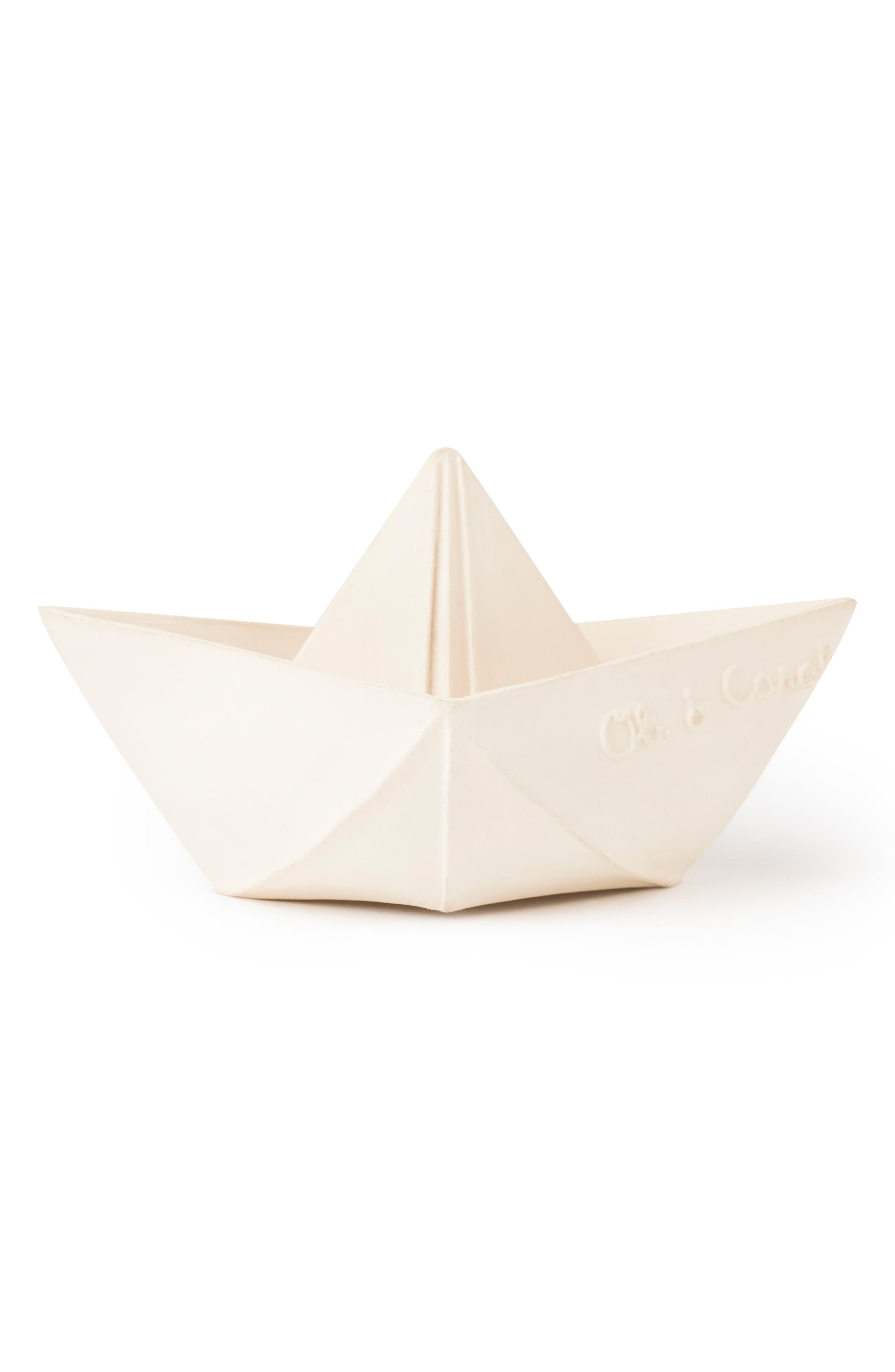 Origami Boat Bath Toy,                             Alternate thumbnail 2, color,                             WHITE