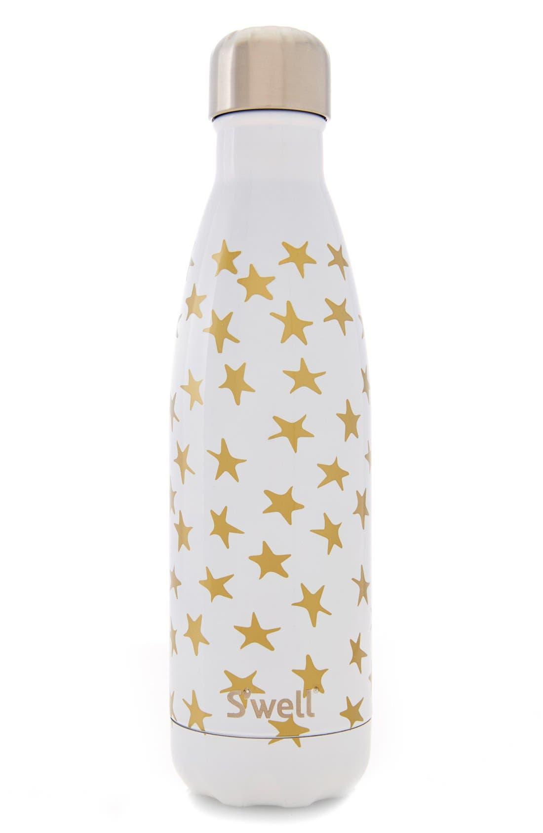 'Galaxy Collection - Star Crossed' Stainless Steel Water Bottle,                             Main thumbnail 1, color,                             100