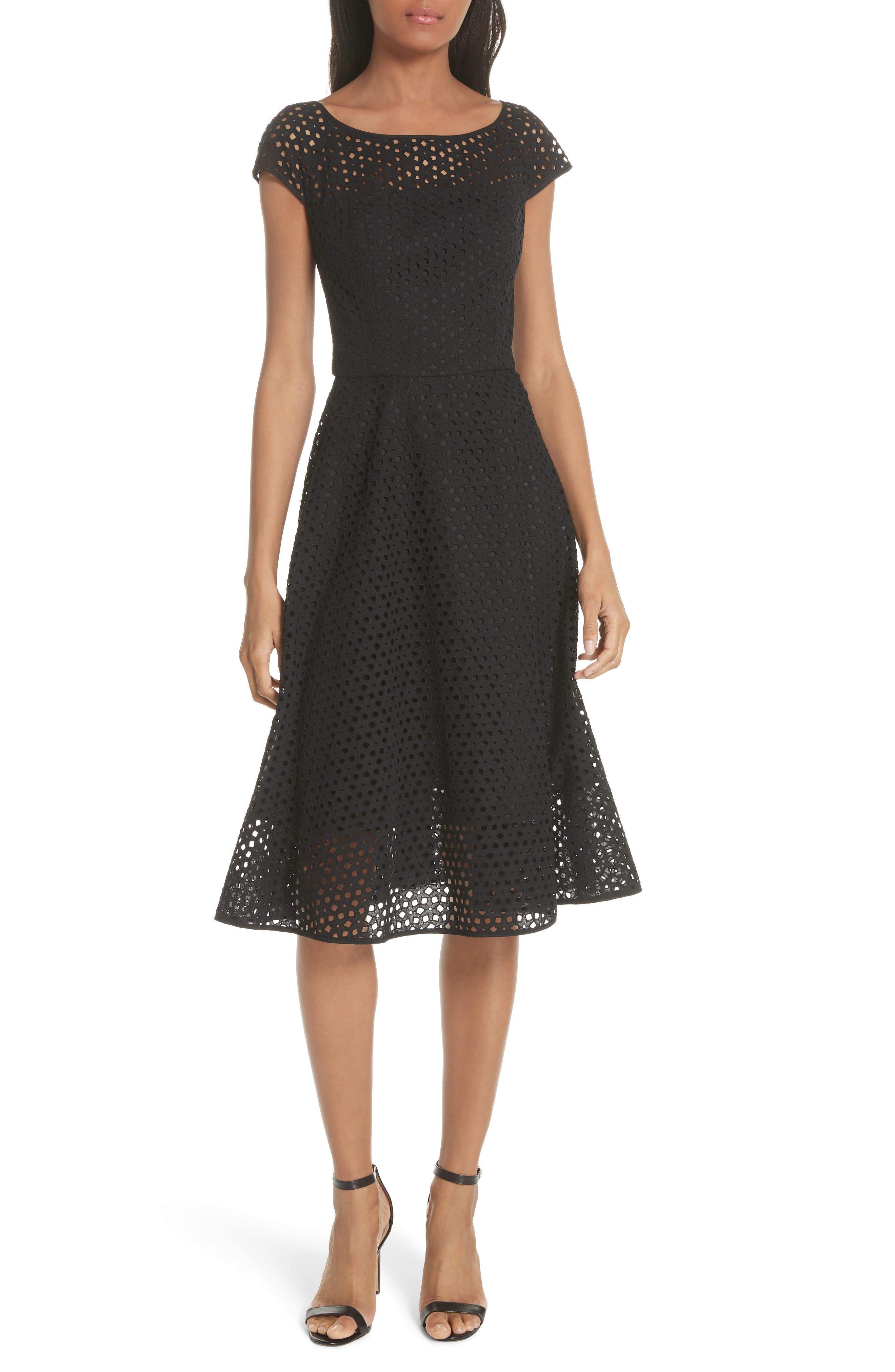 Cathy Cotton Eyelet Dress,                         Main,                         color, 001