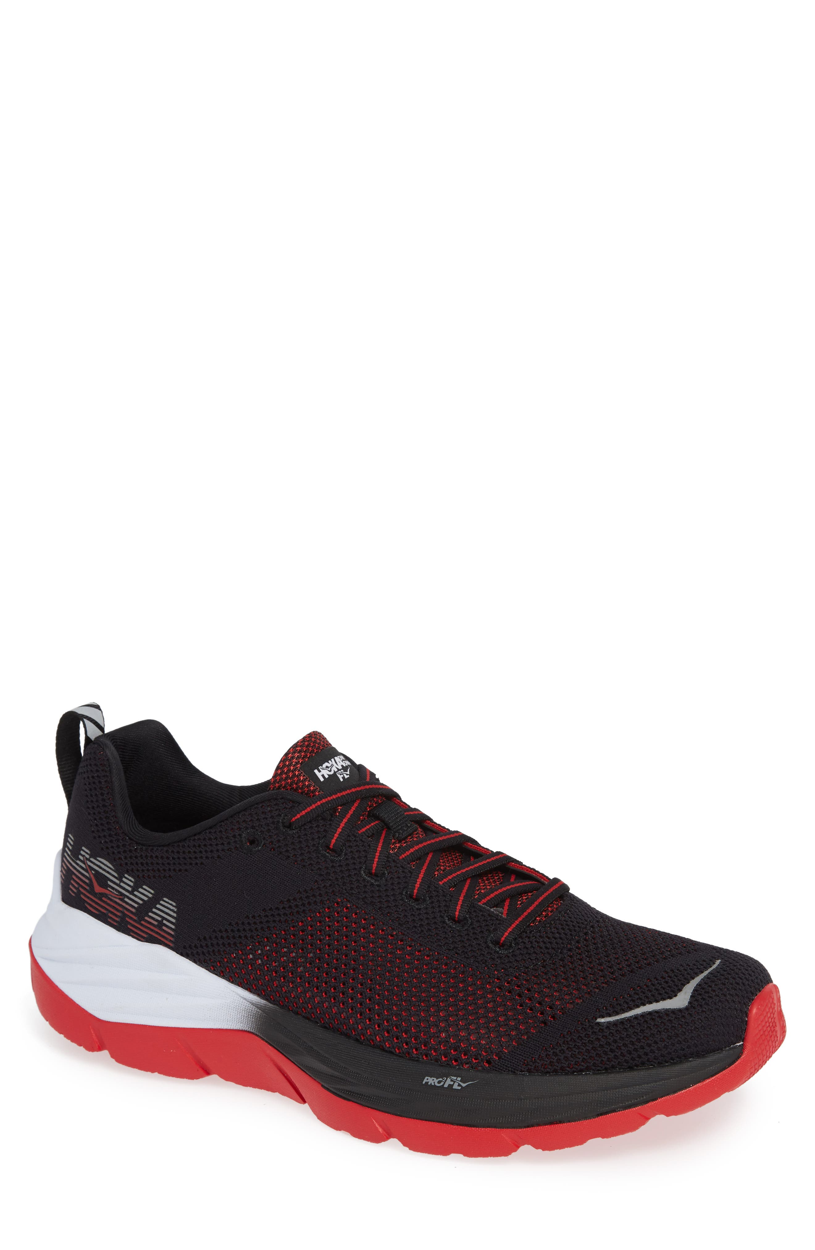 Mach Running Shoe,                         Main,                         color, BLACK/ WHITE