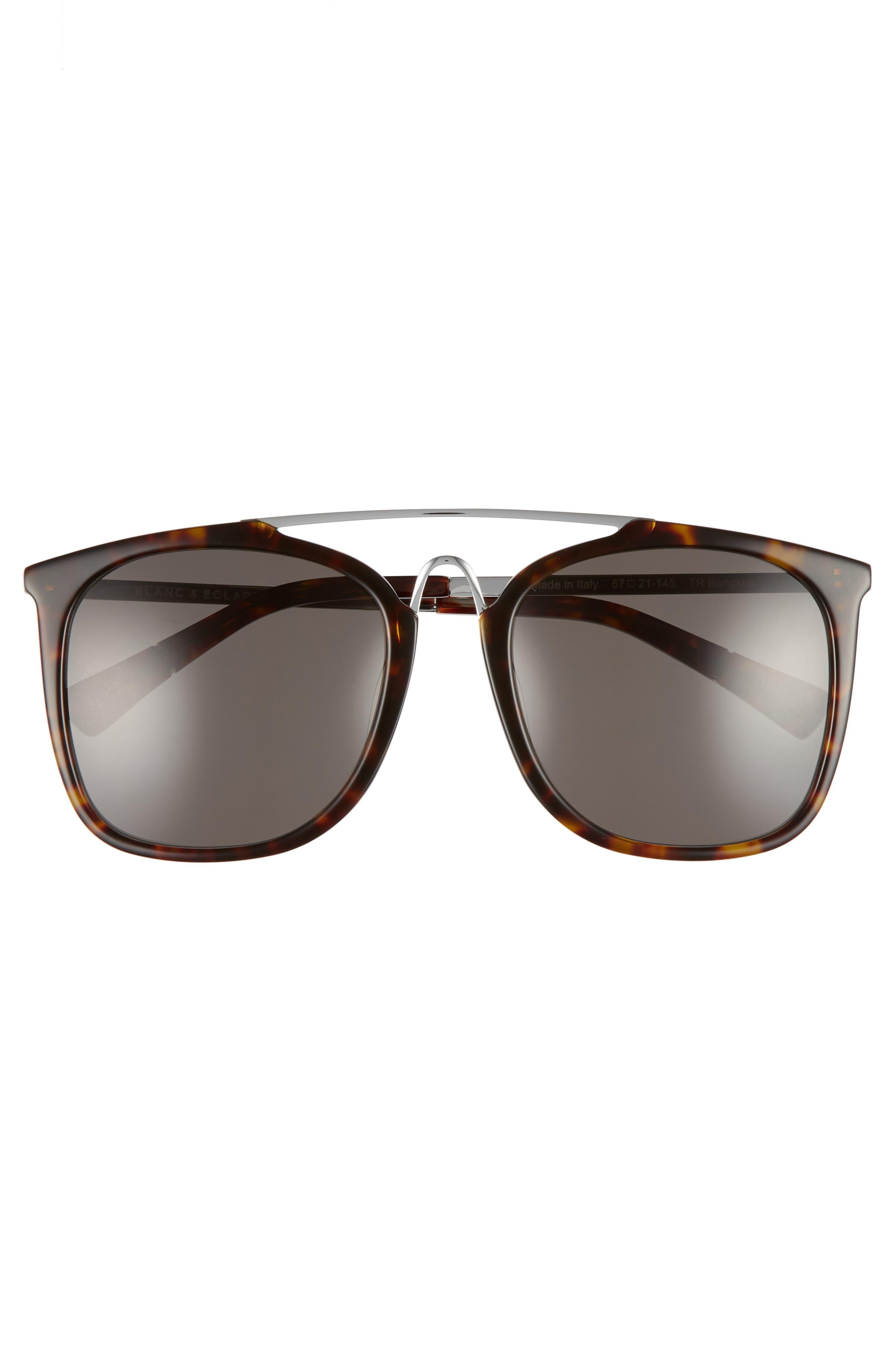 BLANC & ECLARE Bangkok 57mm Polarized Sunglasses,                             Alternate thumbnail 6, color,