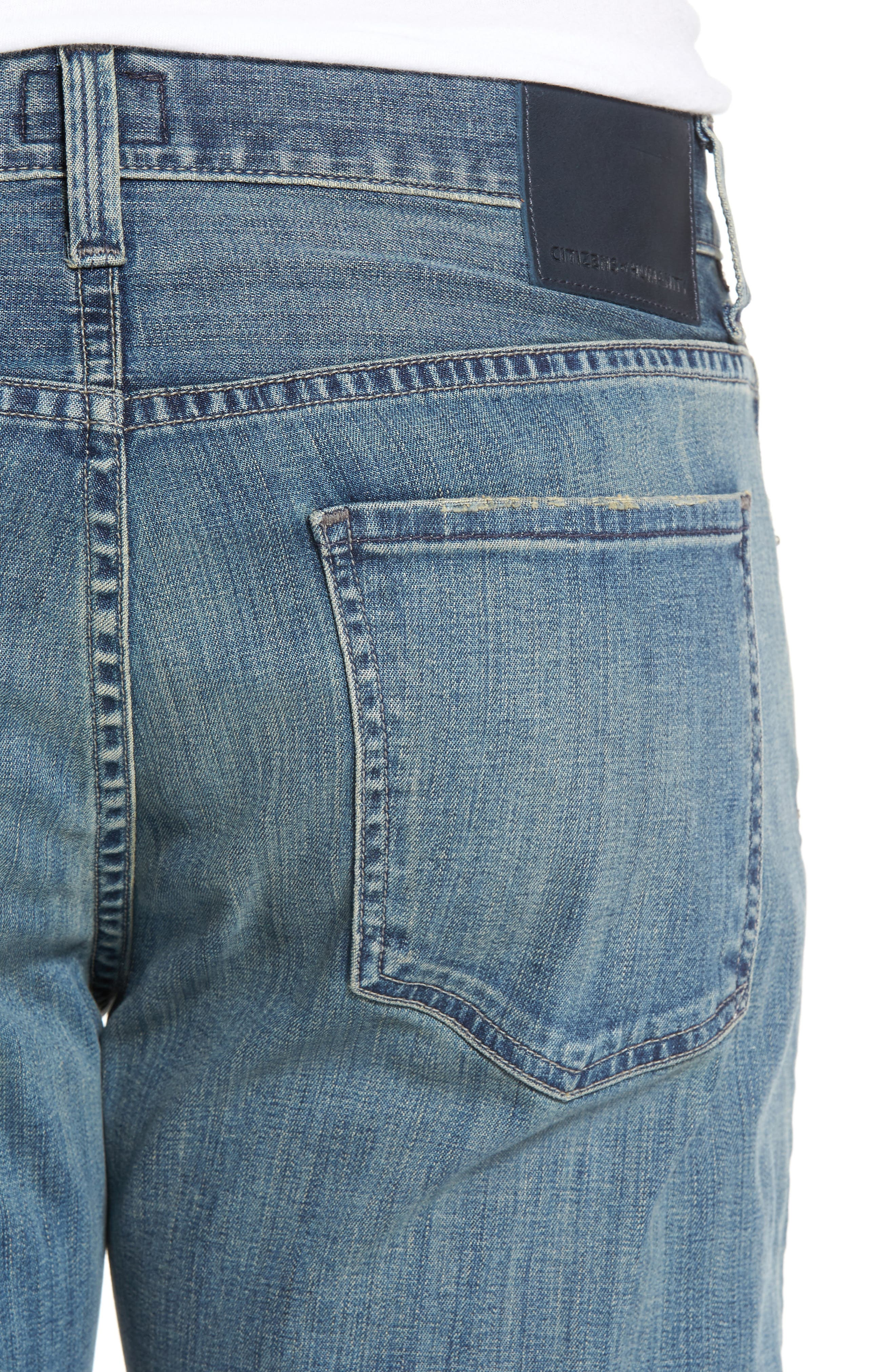 Sid Straight Leg Jeans,                             Alternate thumbnail 4, color,                             423