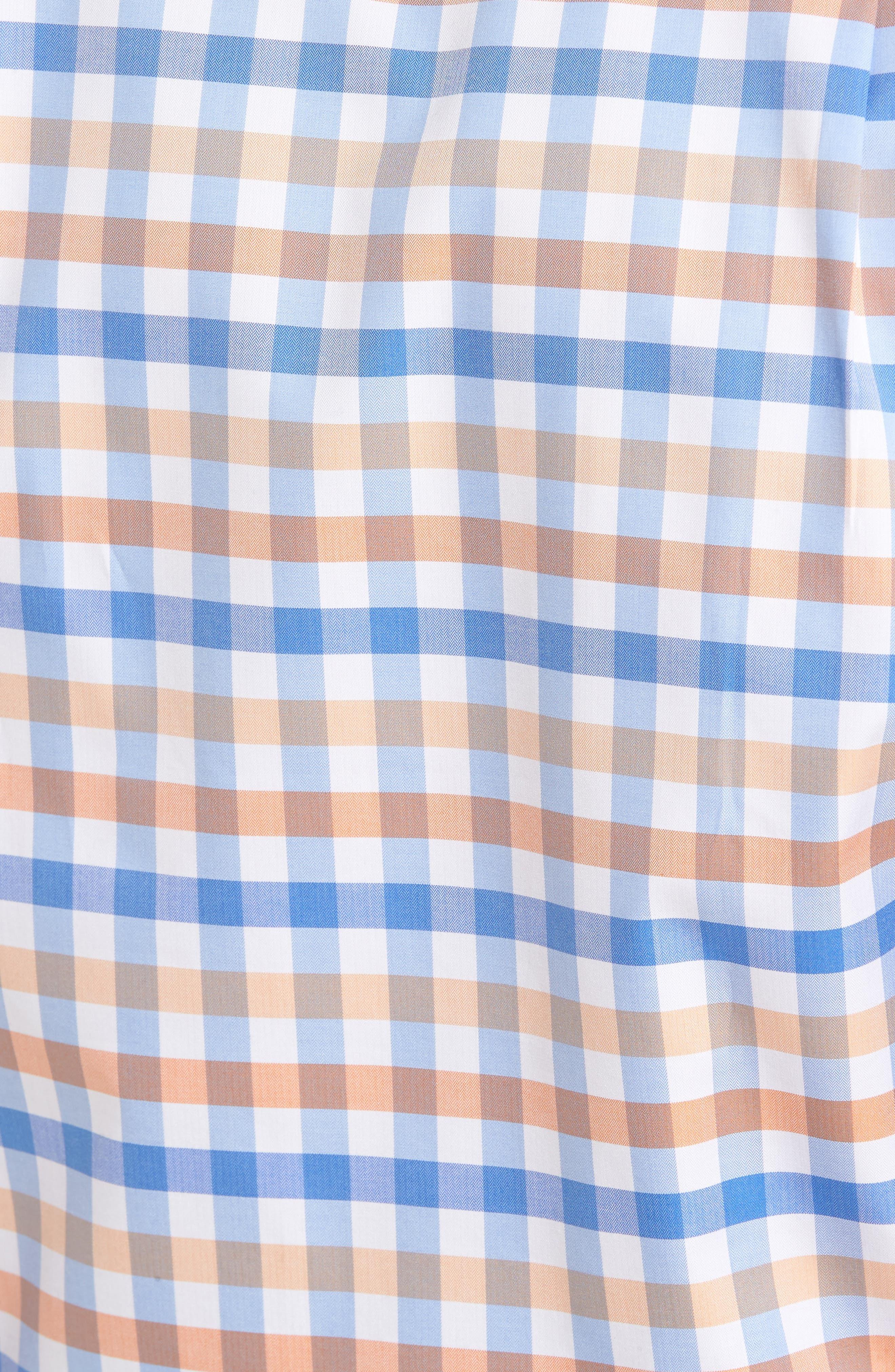 Regular Fit Check Sport Shirt,                             Alternate thumbnail 5, color,                             459