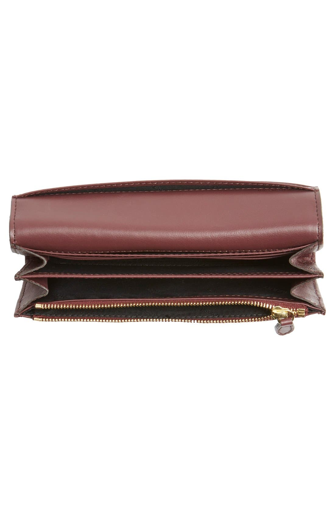 'Porter - Check' Continental Wallet,                             Alternate thumbnail 3, color,