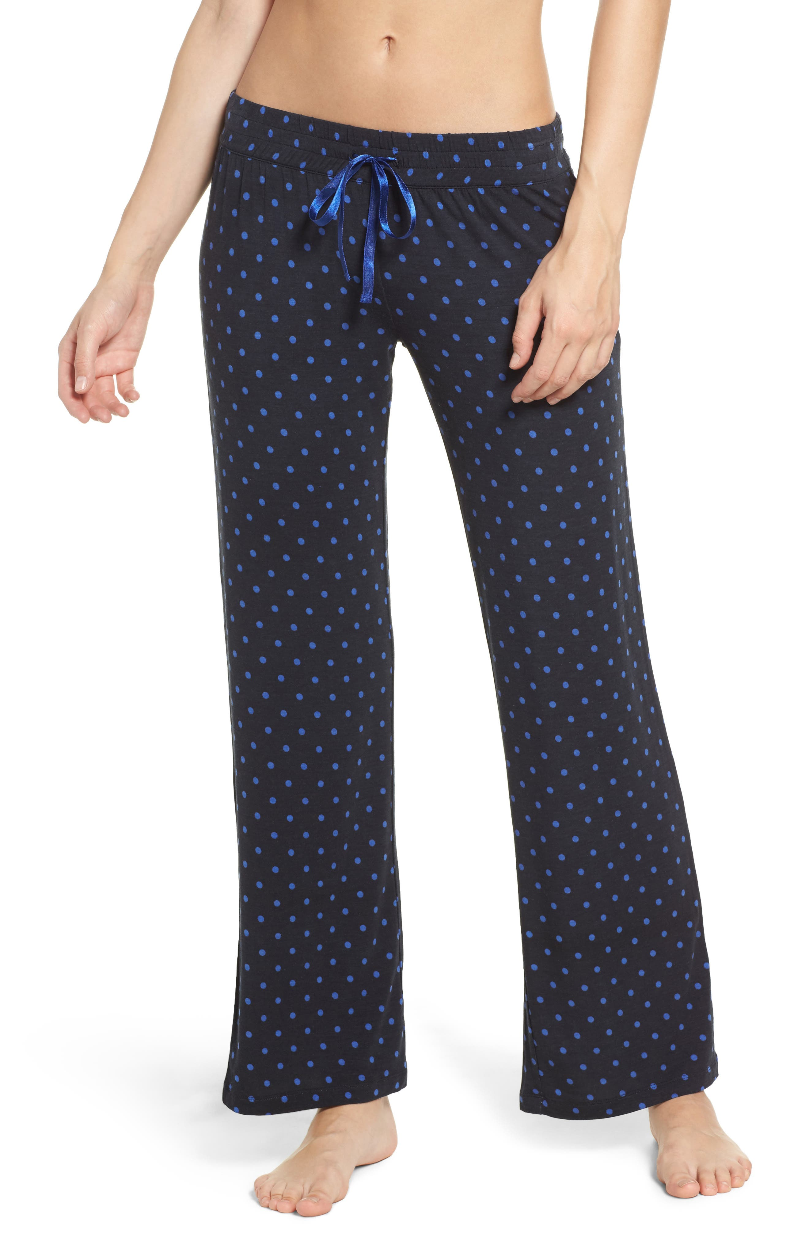 Dot Lounge Pants,                             Main thumbnail 1, color,                             400
