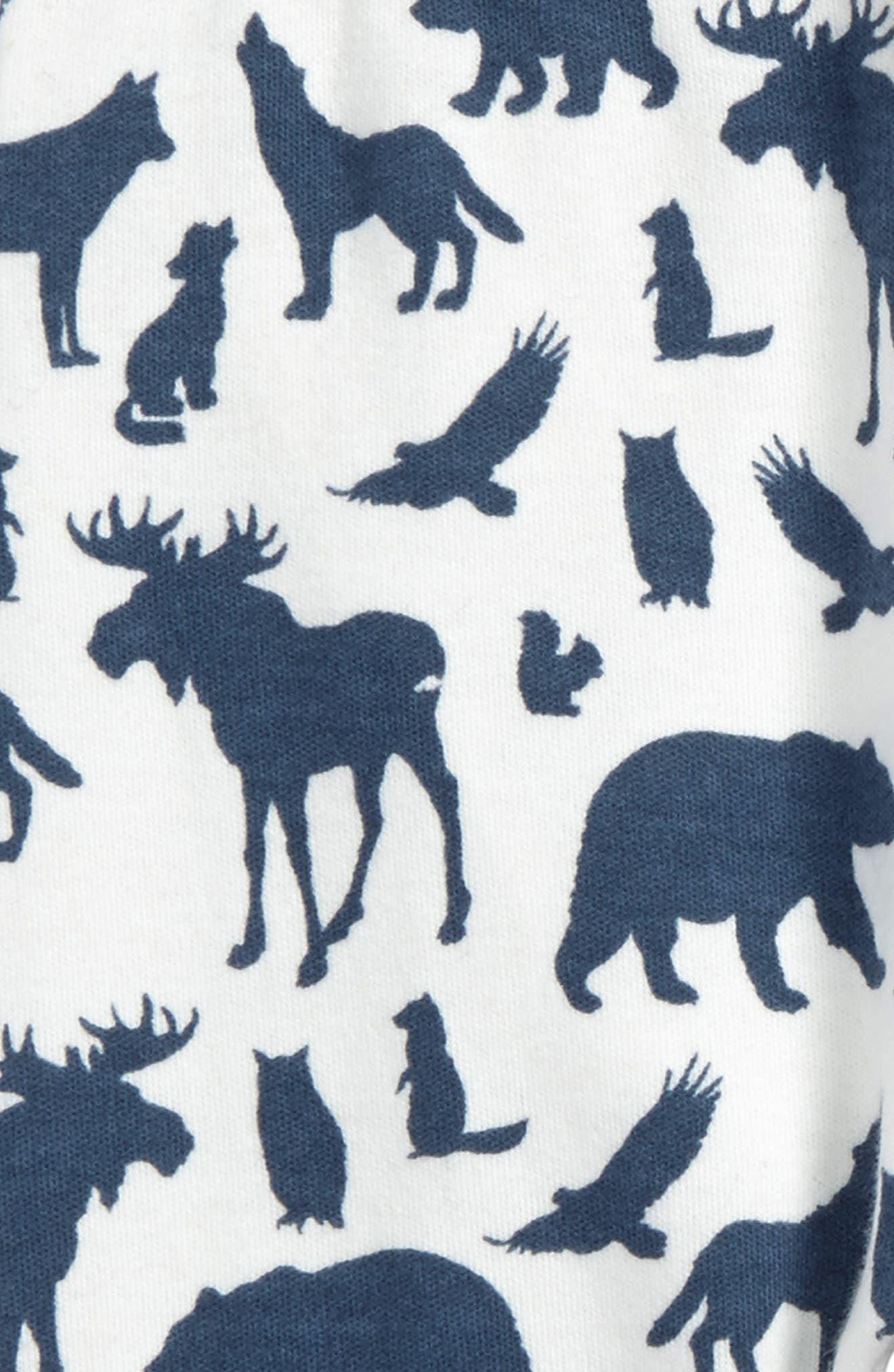 Animal Print Organic Cotton Jogger Pants,                             Alternate thumbnail 2, color,                             900