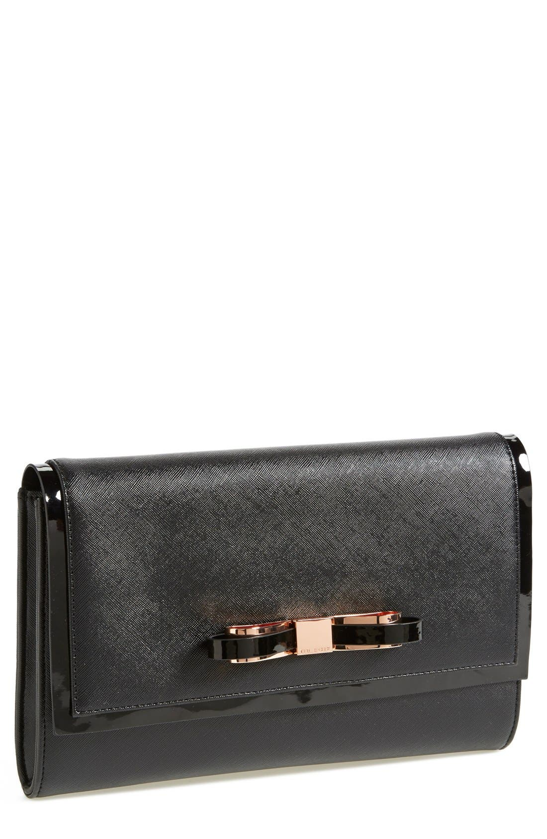 'Bow' Clutch, Main, color, 001