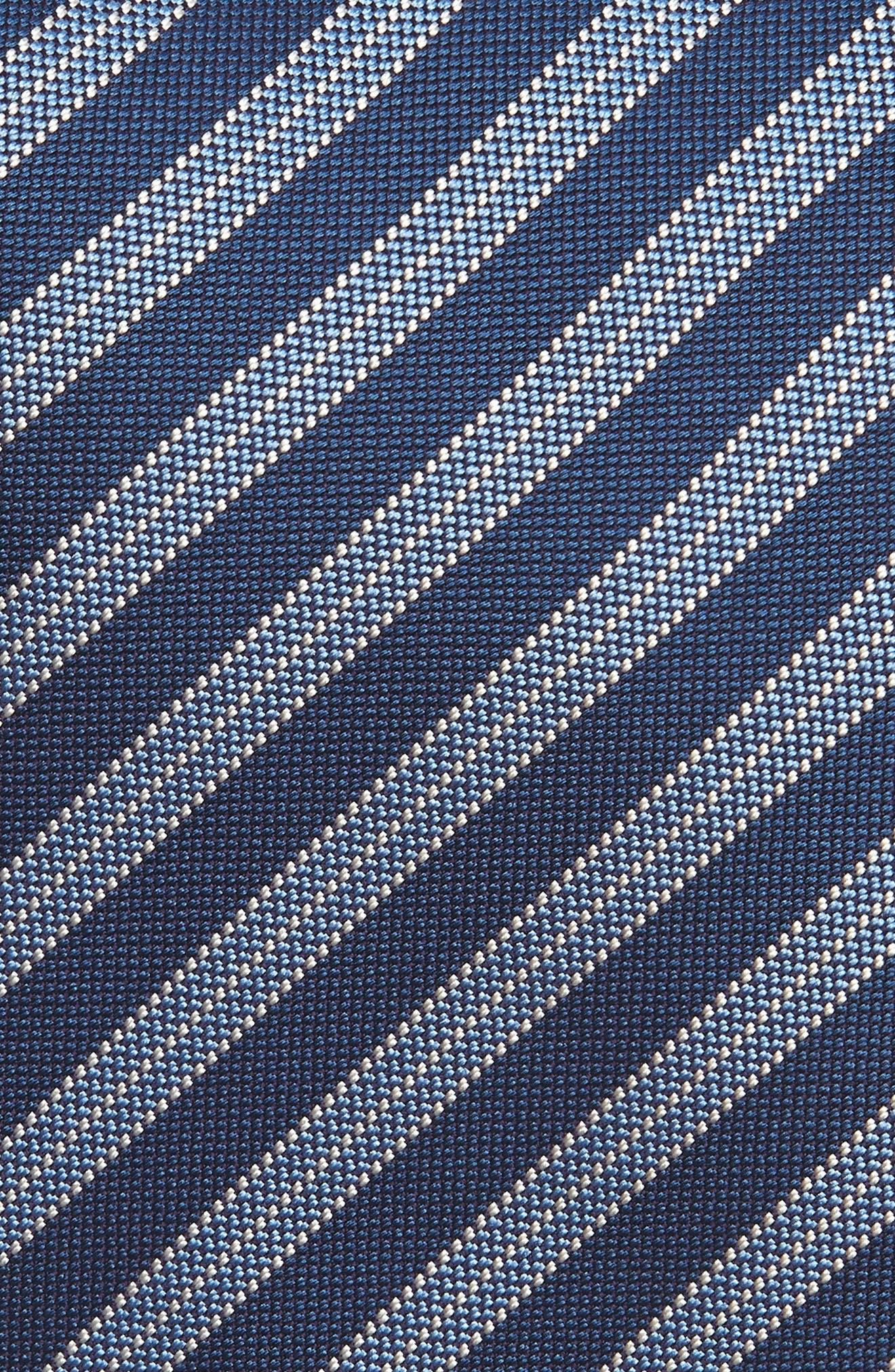 Stripe Silk Tie,                             Alternate thumbnail 2, color,                             412