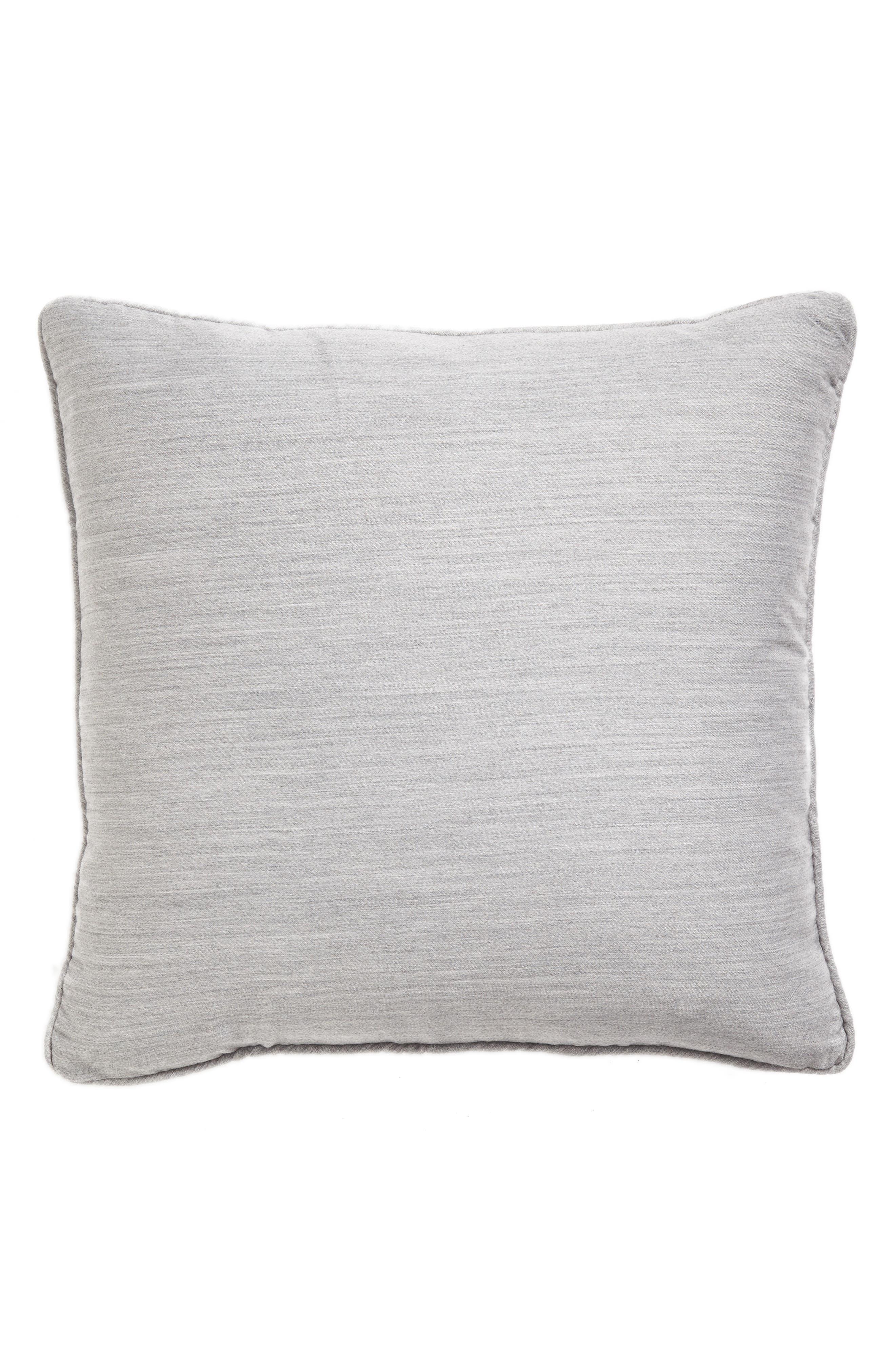 Brione Accent Pillow,                             Alternate thumbnail 2, color,                             ALUMINUM