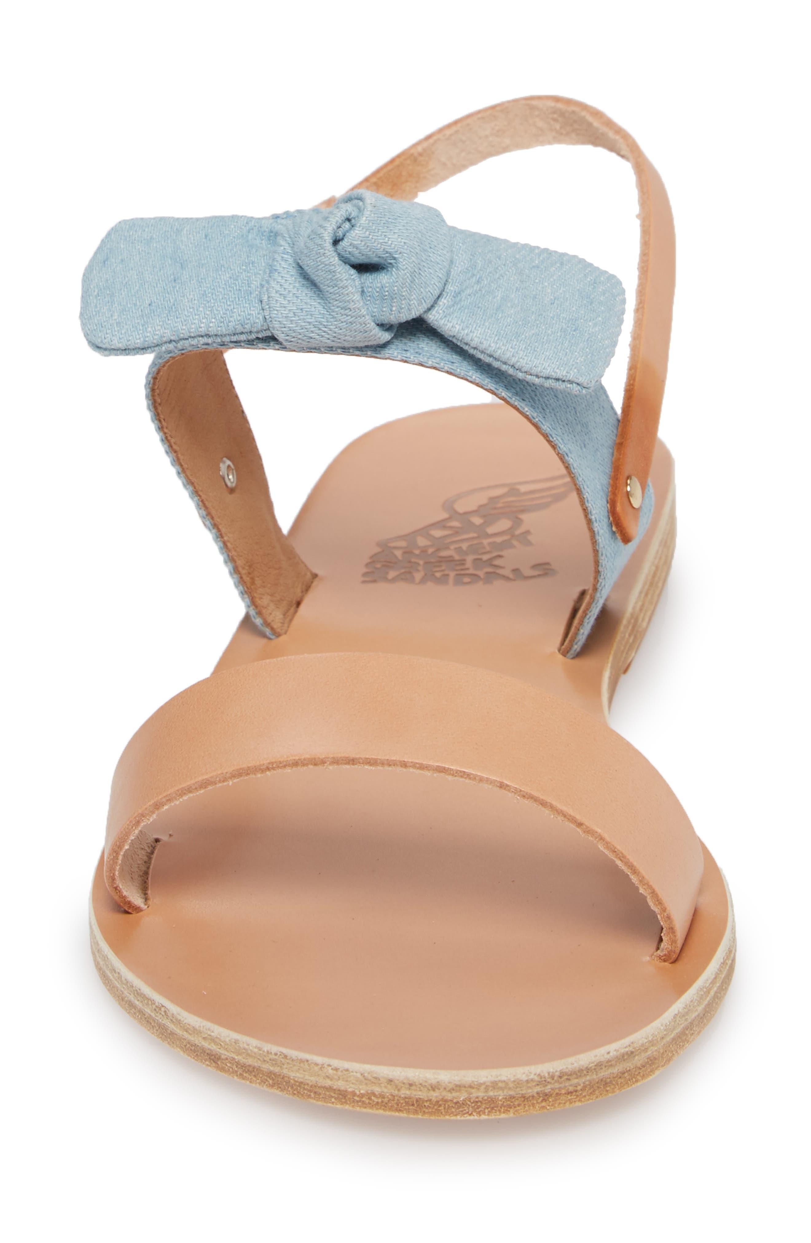 Clio Bow Sandal,                             Alternate thumbnail 4, color,