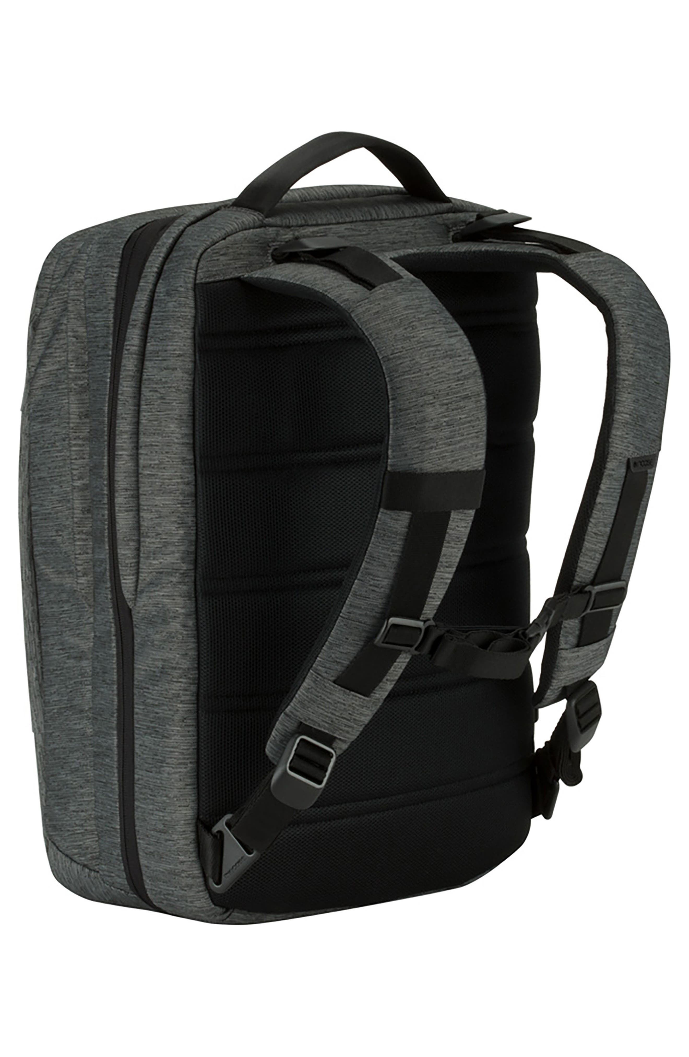 City Commuter Backpack,                             Alternate thumbnail 2, color,                             HEATHER BLACK