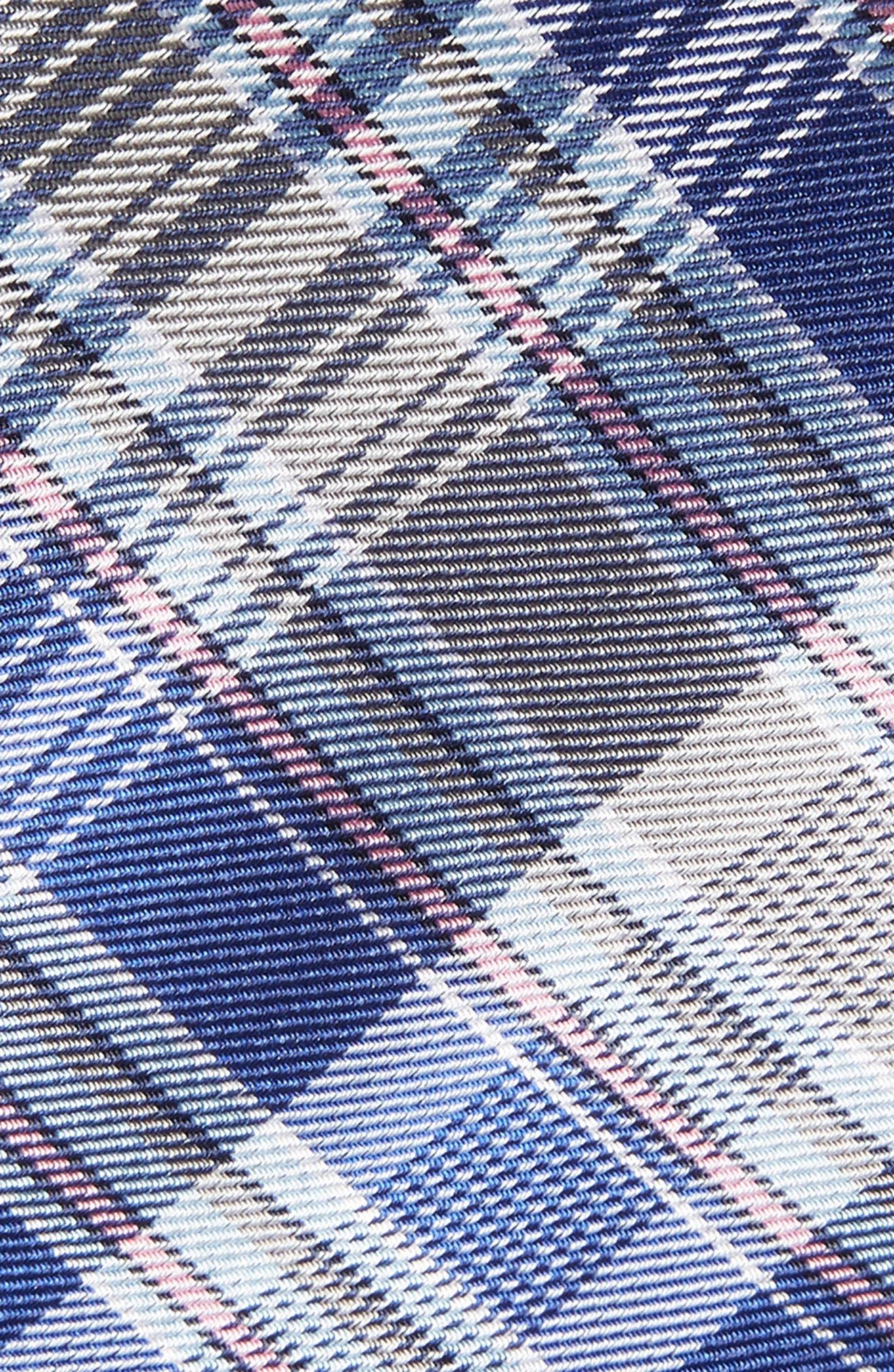 Sassafrass Plaid Silk Tie,                             Alternate thumbnail 3, color,