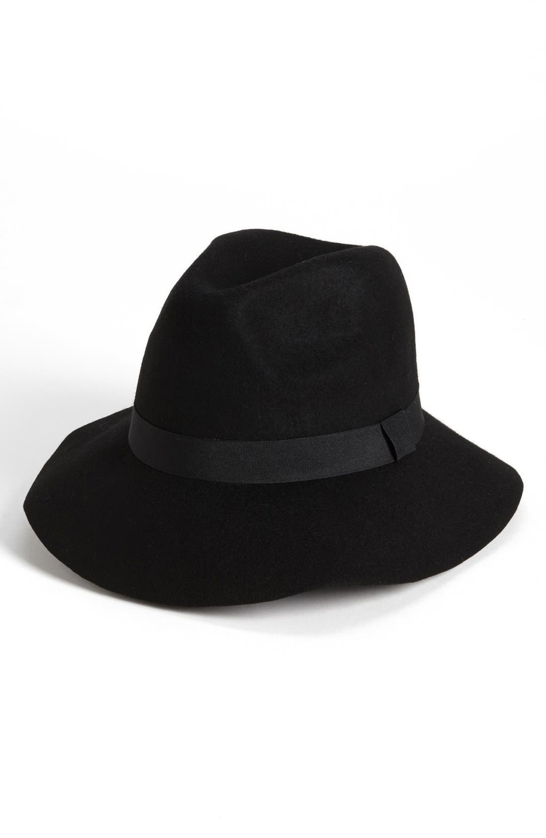Felt Fedora,                             Alternate thumbnail 2, color,                             001