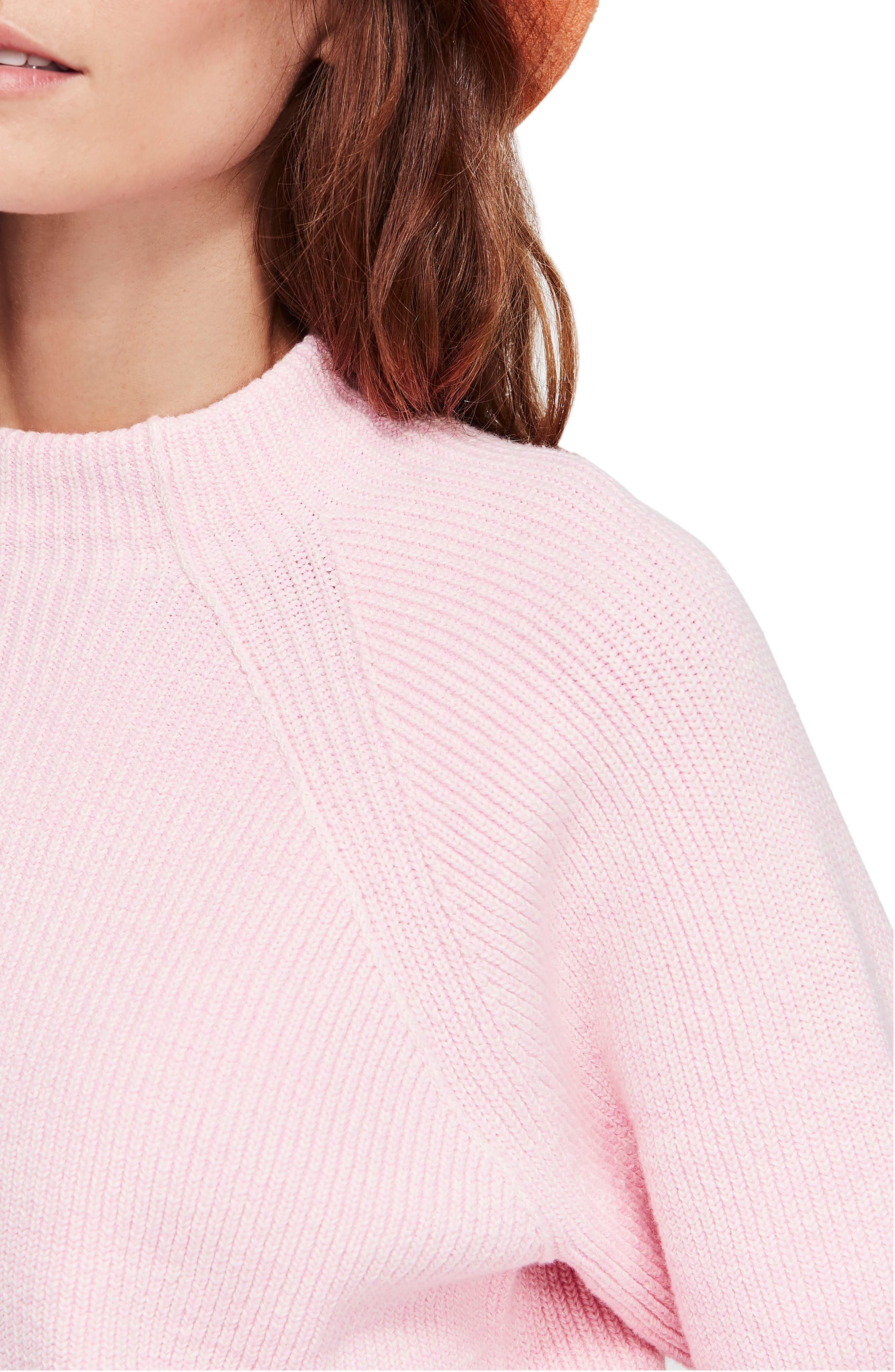 Too Good Sweater,                             Alternate thumbnail 4, color,                             PINK