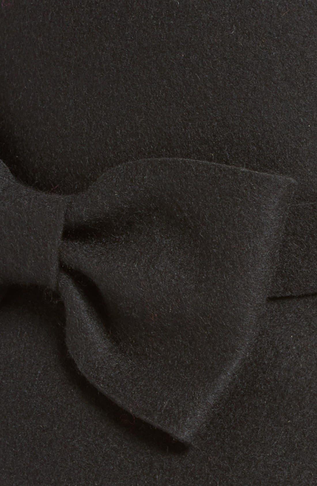 katespade new yorkfelted wool downbrimhat,                             Alternate thumbnail 2, color,                             001