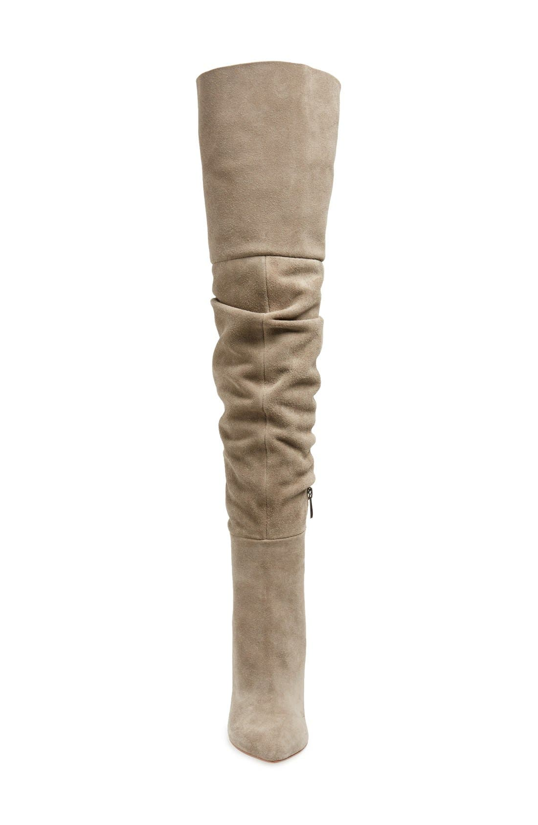 KRISTIN CAVALLARI,                             'Calissa' Over the Knee Slouch Boot,                             Alternate thumbnail 3, color,                             031