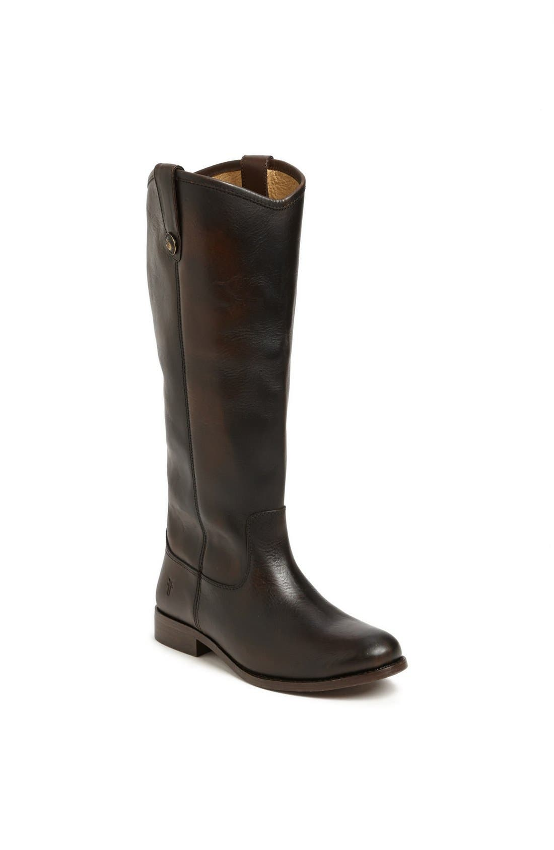 'Melissa Button' Leather Riding Boot,                             Main thumbnail 11, color,