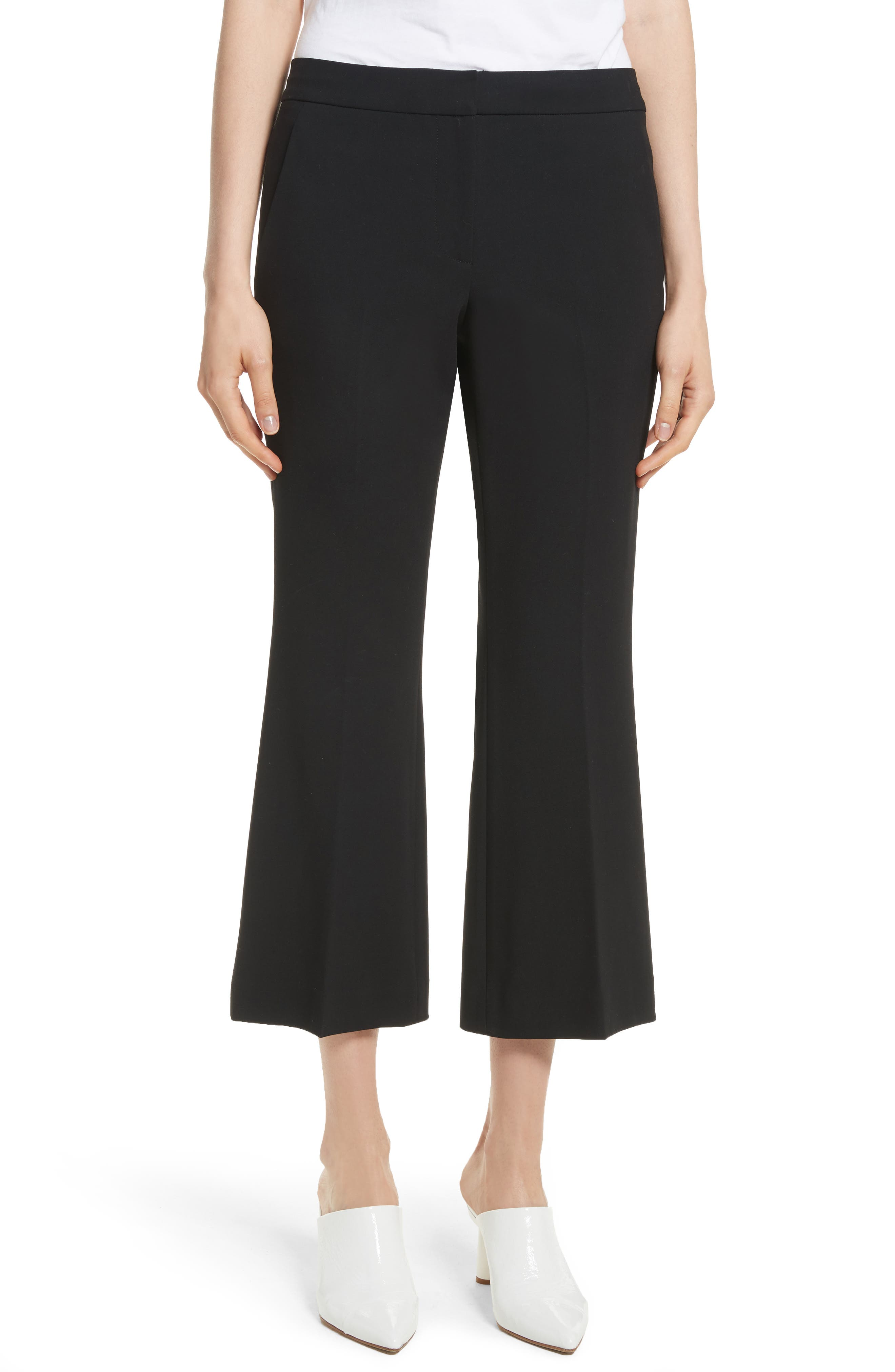 Anson Crop Bootcut Pants,                         Main,                         color,