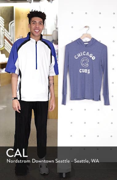 Campbell Chicago Cubs Rib Knit Hoodie, sales video thumbnail