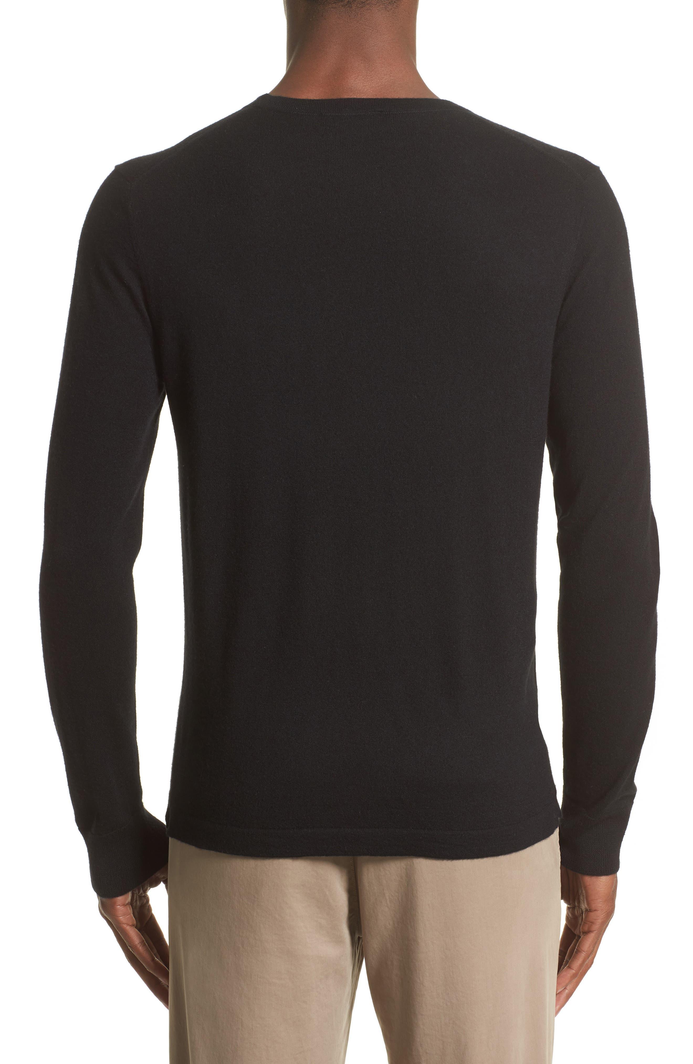 Cashmere Pocket T-Shirt,                             Alternate thumbnail 2, color,                             001
