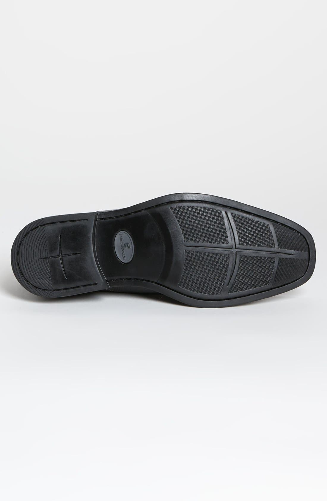 'Tampa' Loafer,                             Alternate thumbnail 3, color,                             BLACK