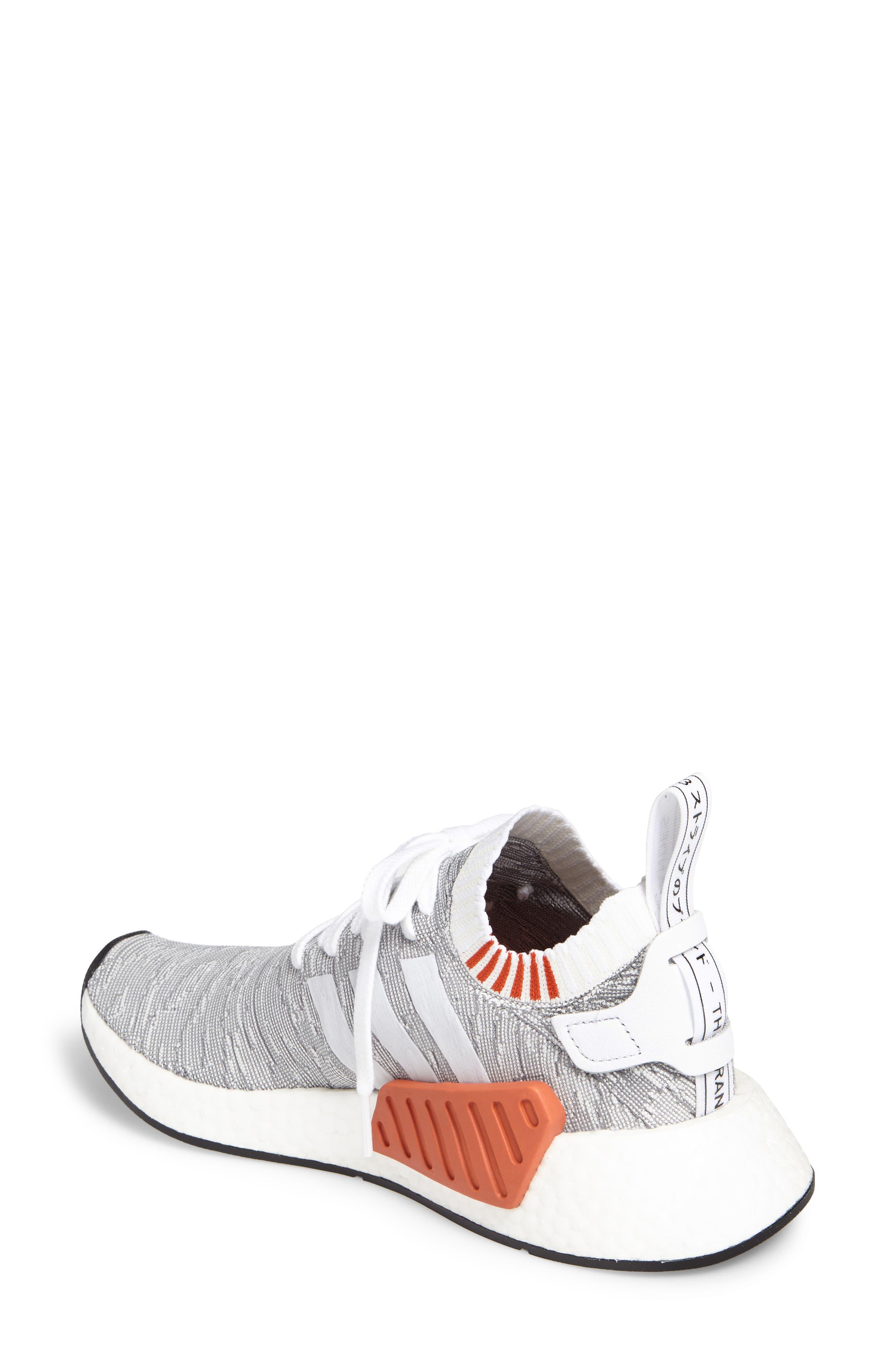 NMD R2 Primeknit Athletic Shoe,                             Alternate thumbnail 8, color,