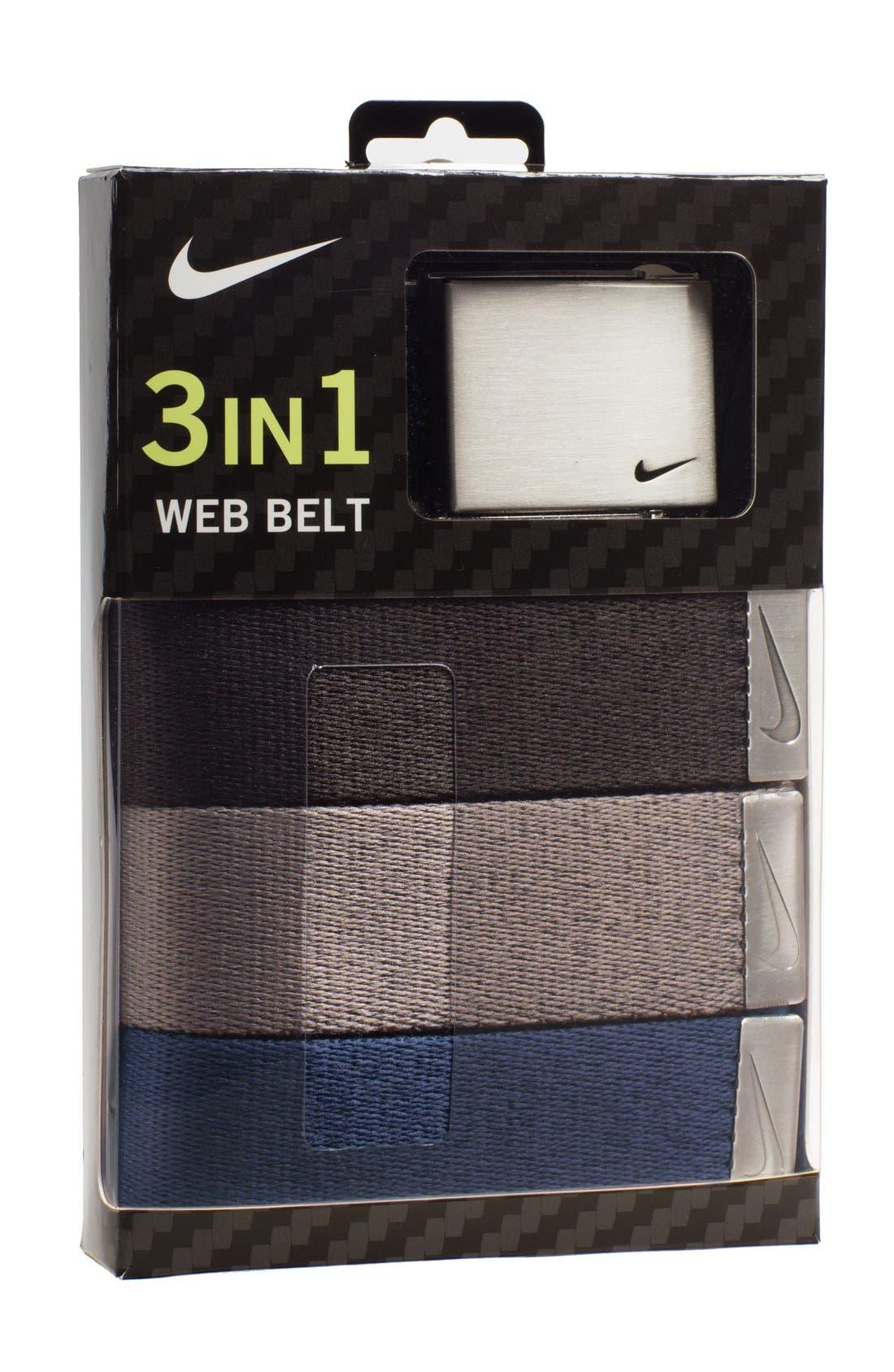 Web Belts,                             Main thumbnail 1, color,                             005
