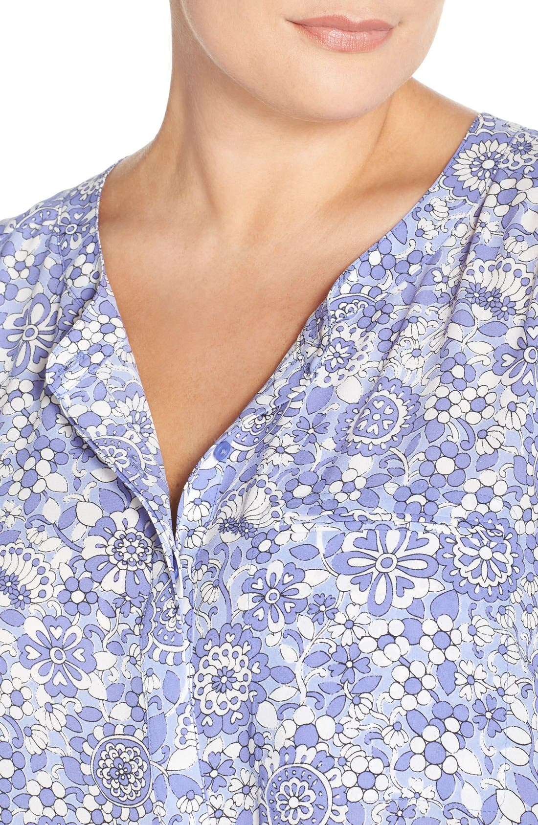 Henley Top,                             Alternate thumbnail 379, color,