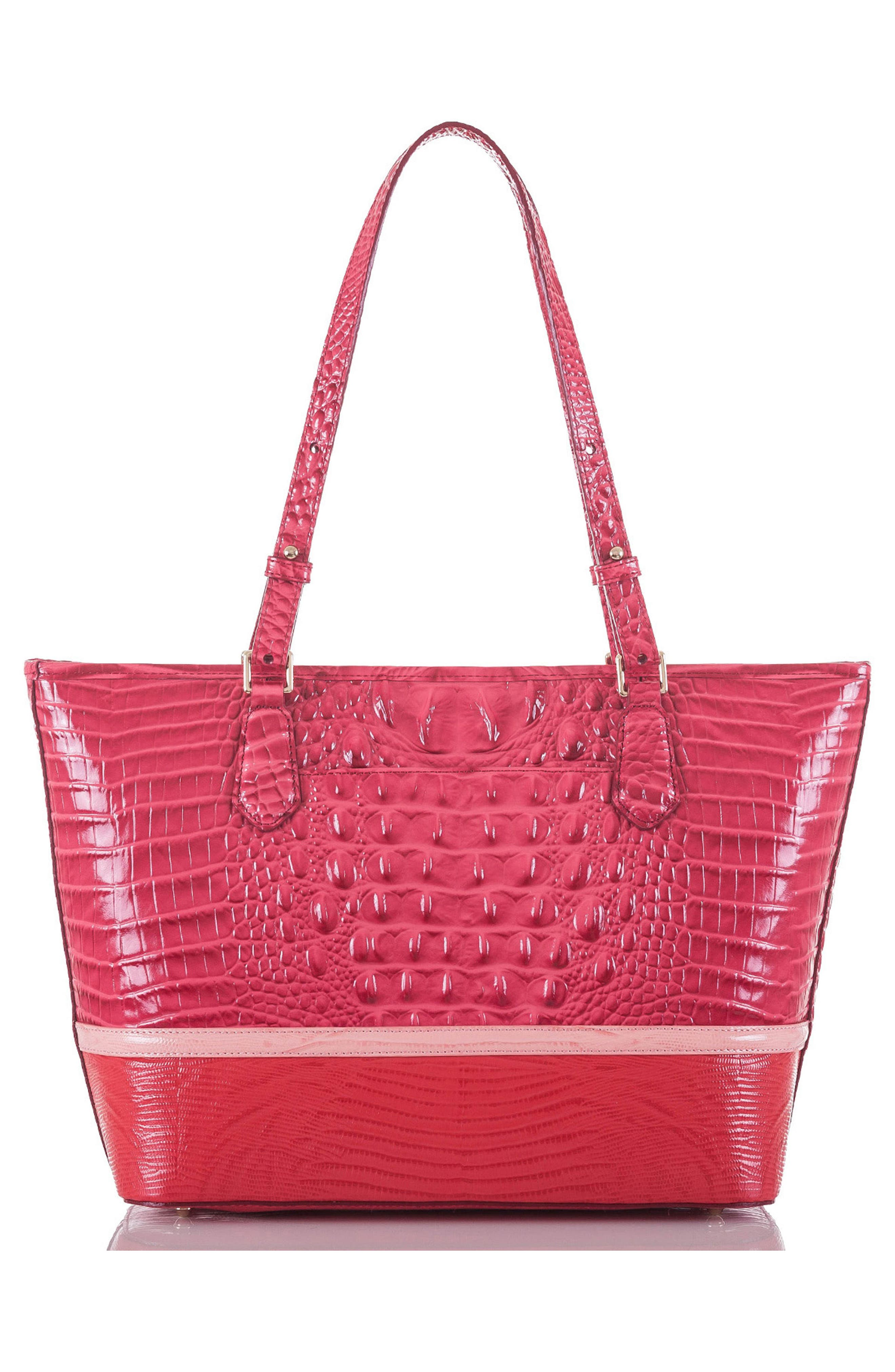 Medium Asher Embossed Leather Tote,                             Alternate thumbnail 2, color,                             650