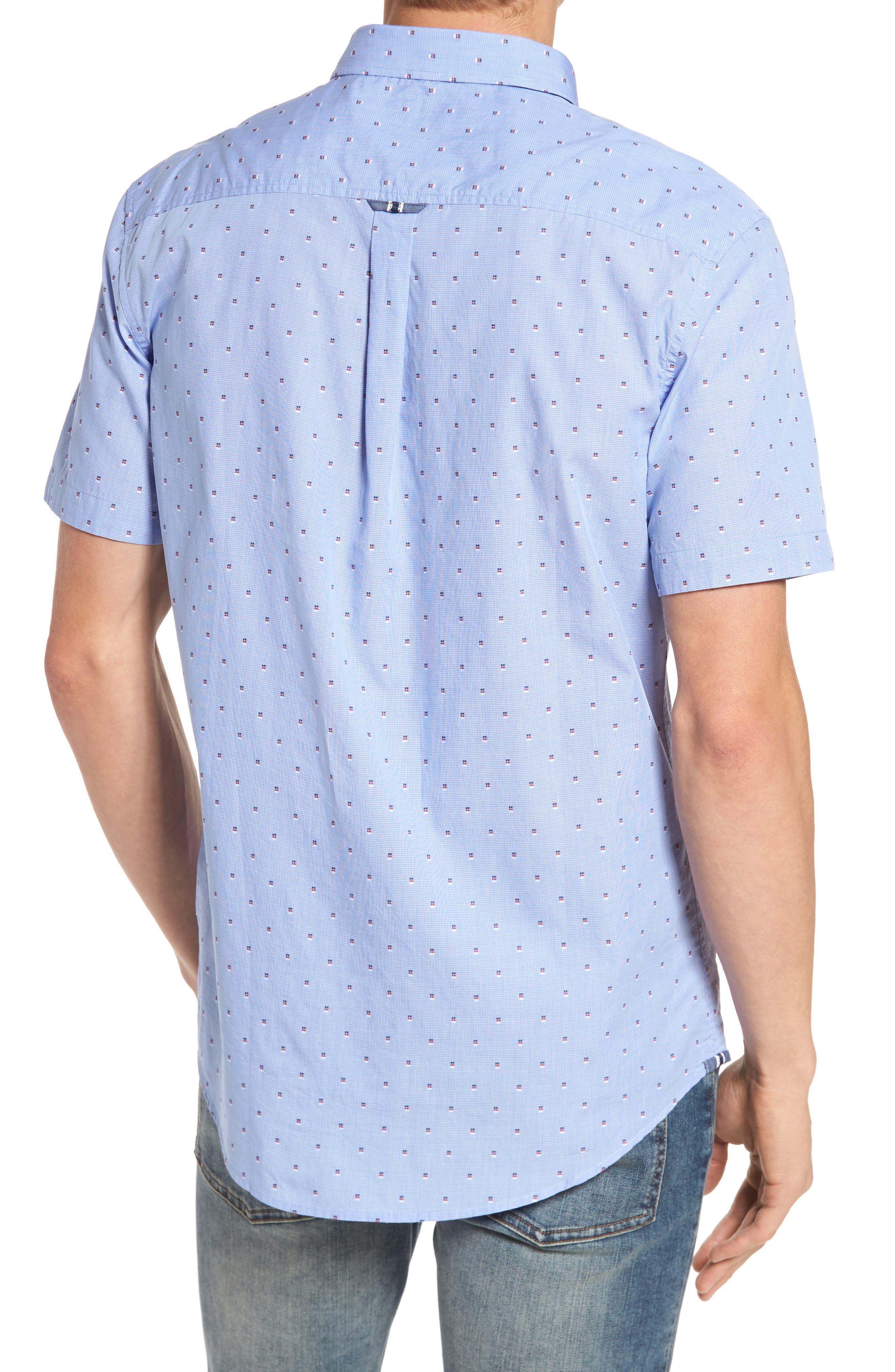 Double Feature Short Sleeve Sport Shirt,                             Alternate thumbnail 2, color,                             451