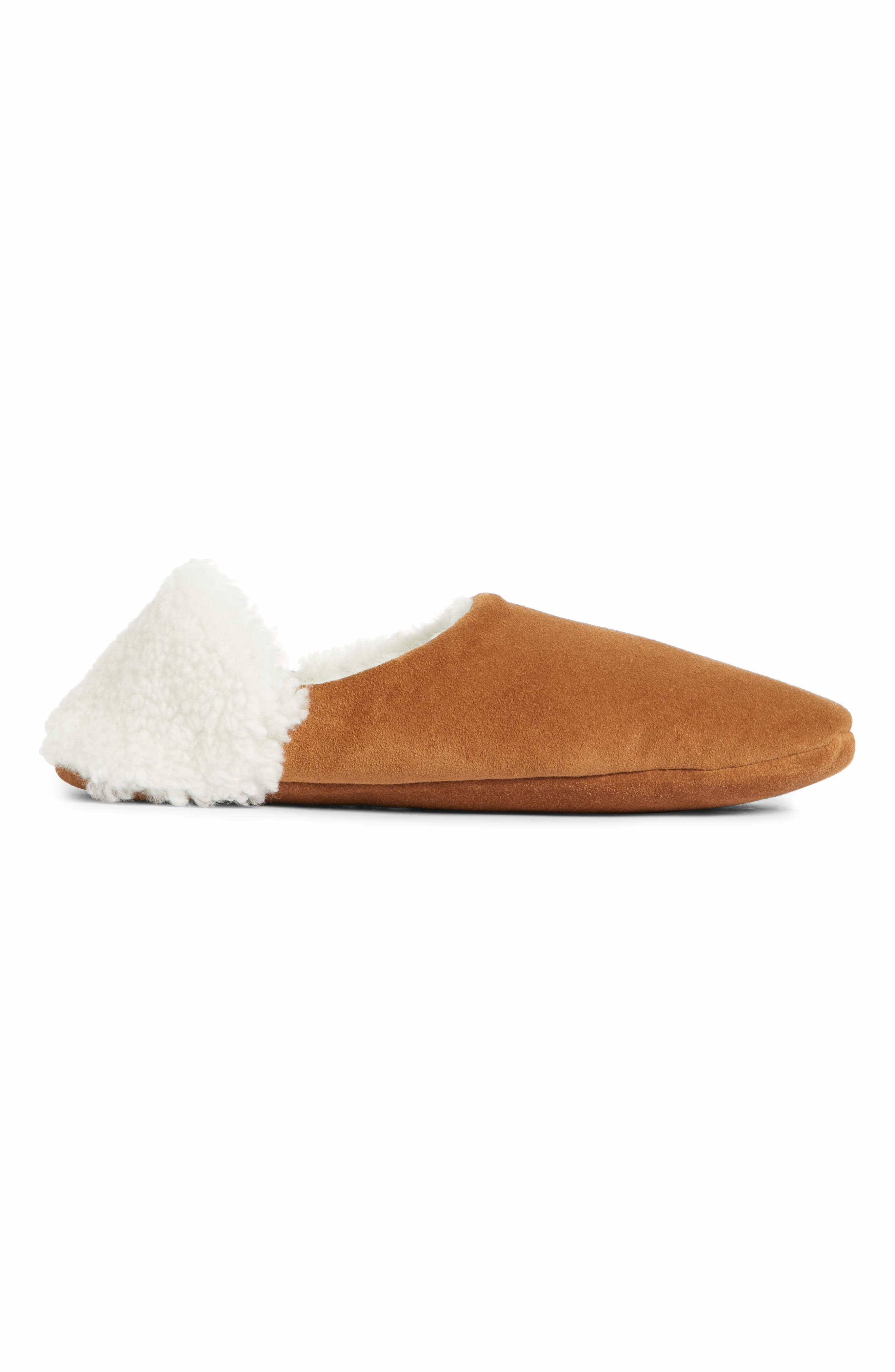 Moroccan Indoor Slipper,                             Alternate thumbnail 2, color,                             SADDLE/ IVORY