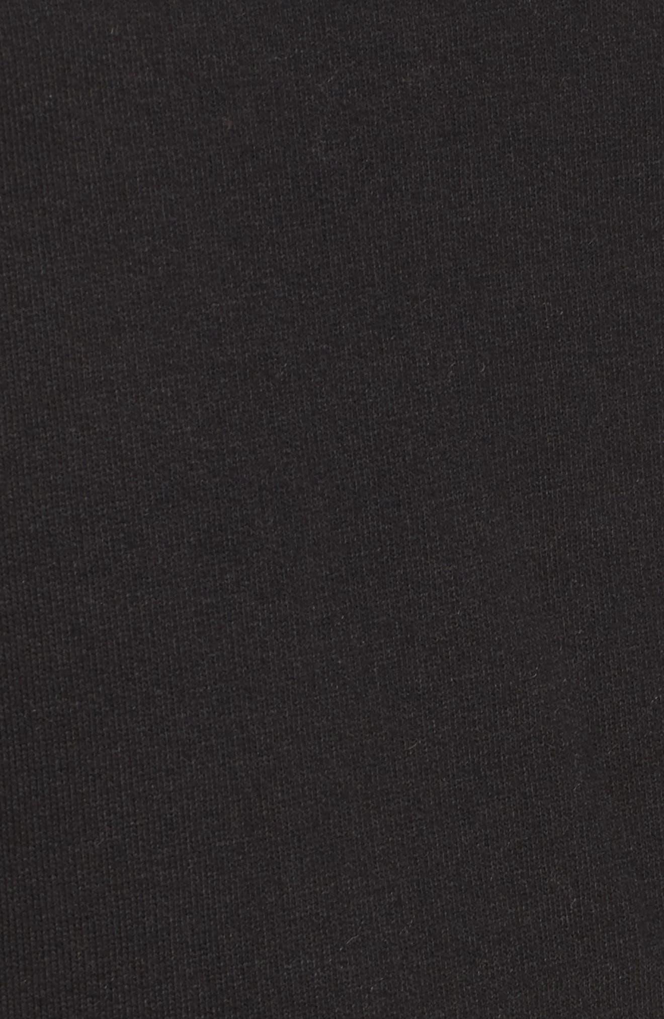 Blonde Raw Hem Sweatshirt,                             Alternate thumbnail 5, color,                             005