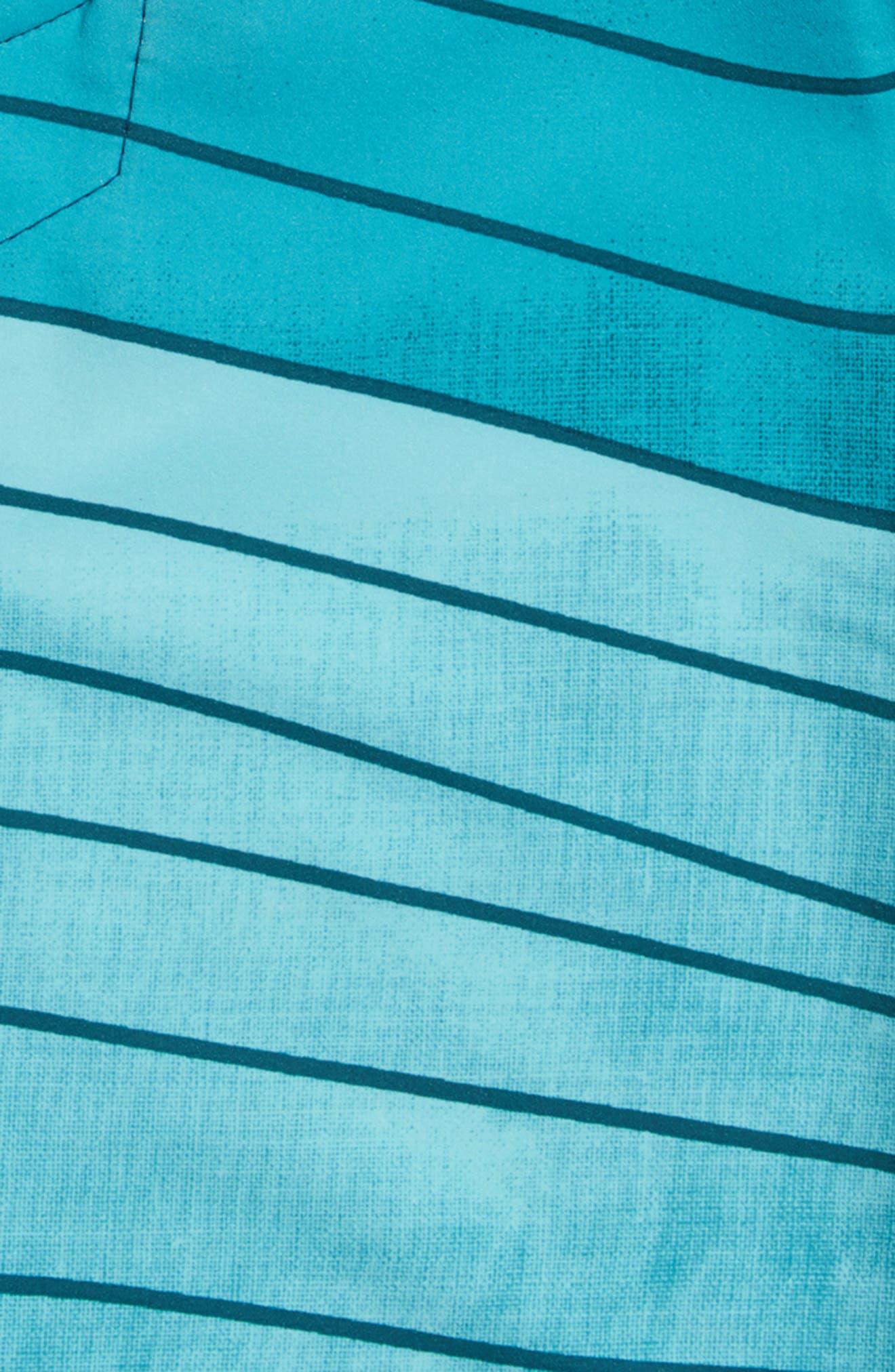 Hyperfreak Swell Stripe Board Shorts,                             Alternate thumbnail 8, color,