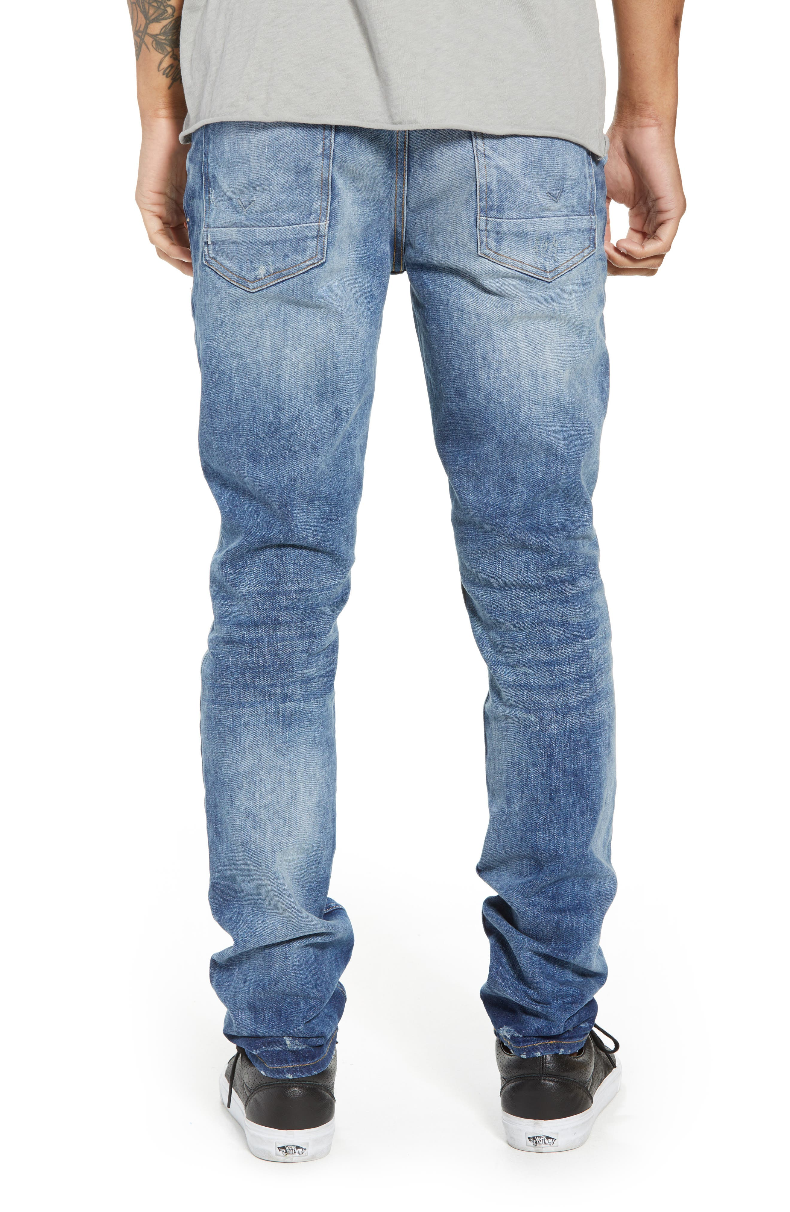 Axl Skinny Fit Jeans,                             Alternate thumbnail 2, color,                             RIDE OUT