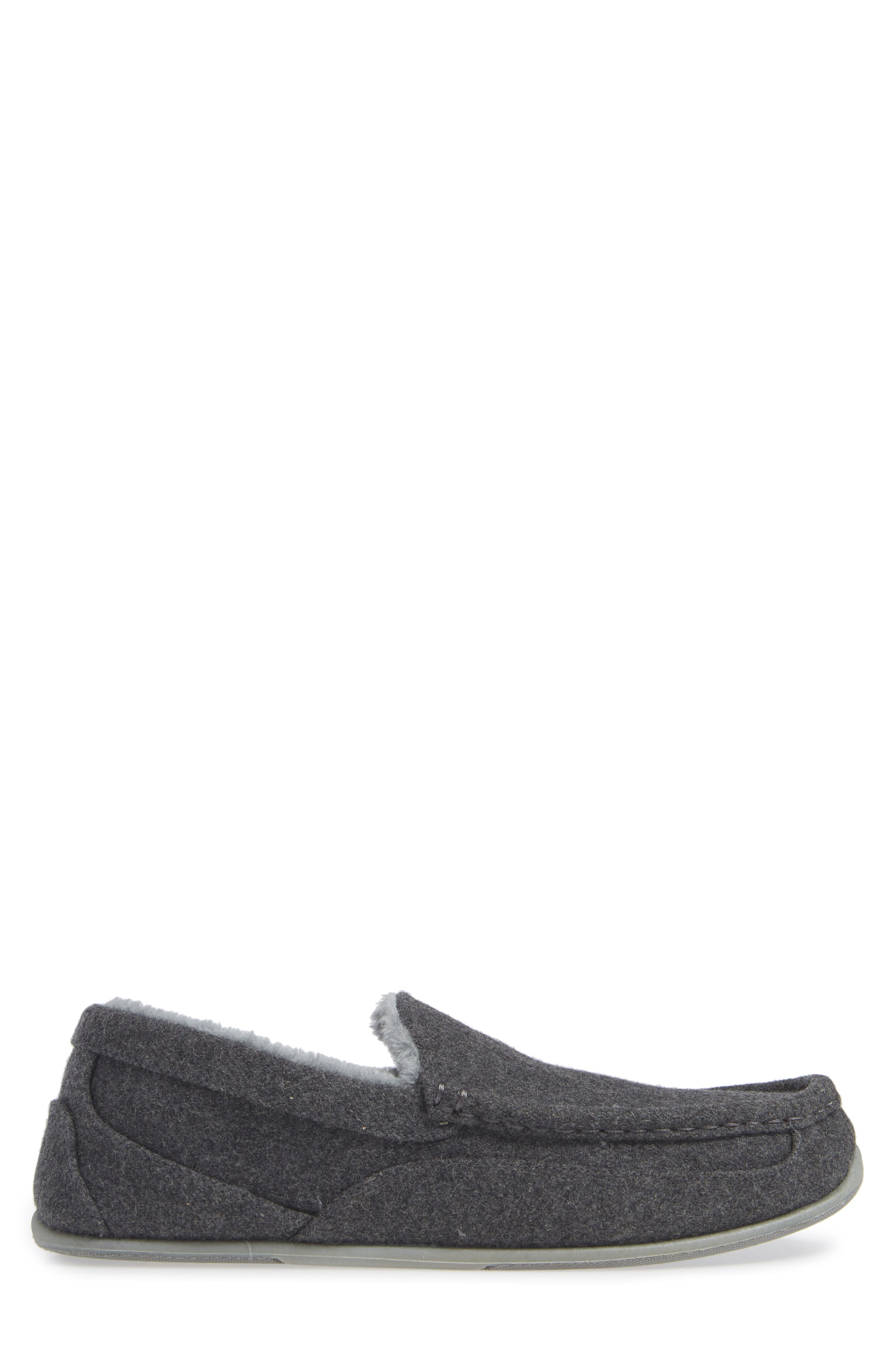 Spun Slipper,                             Alternate thumbnail 3, color,                             DARK GREY