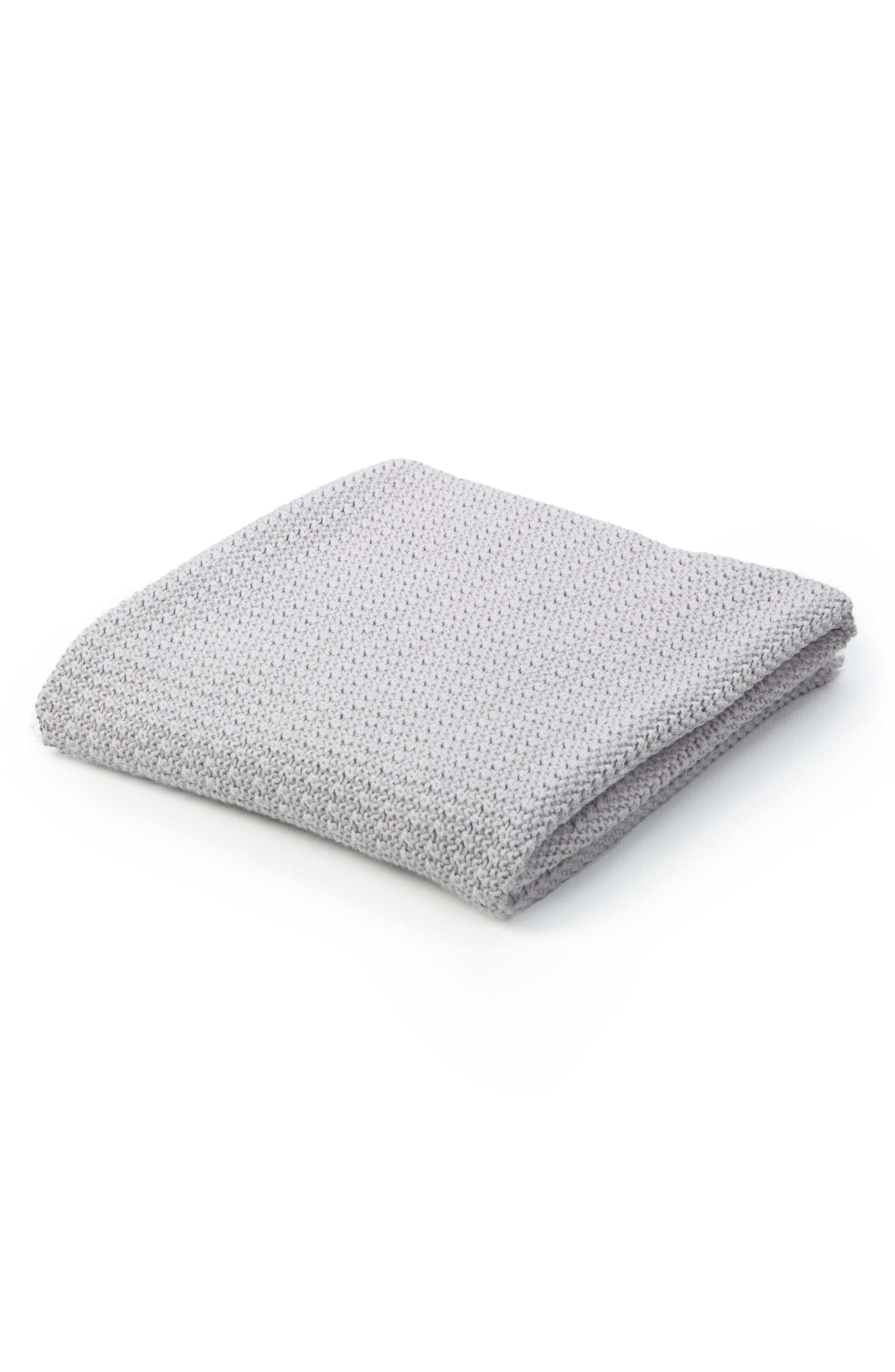 Cellular Cotton Baby Blanket,                             Main thumbnail 1, color,
