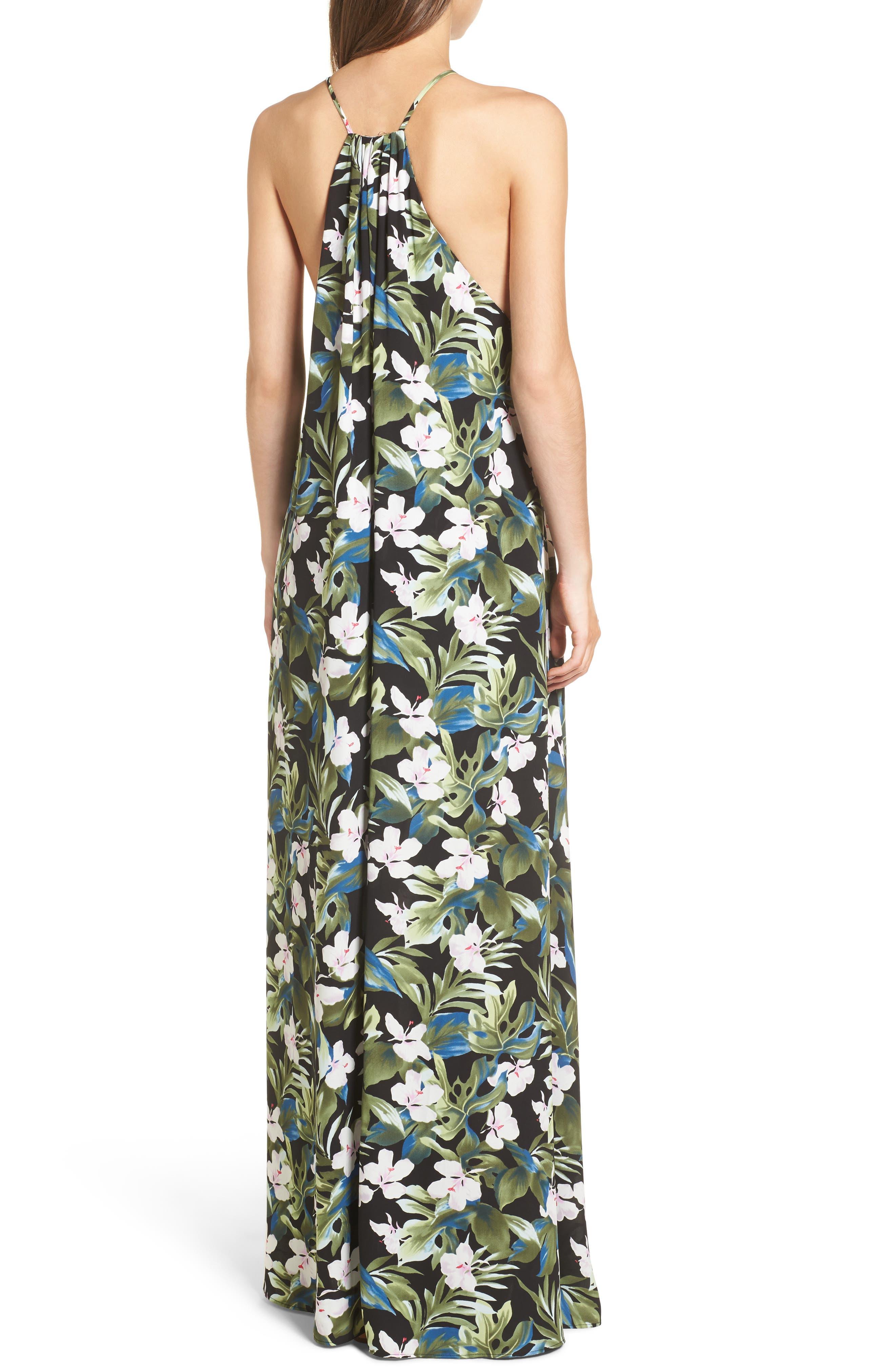 Bronte Maxi Dress,                             Alternate thumbnail 5, color,