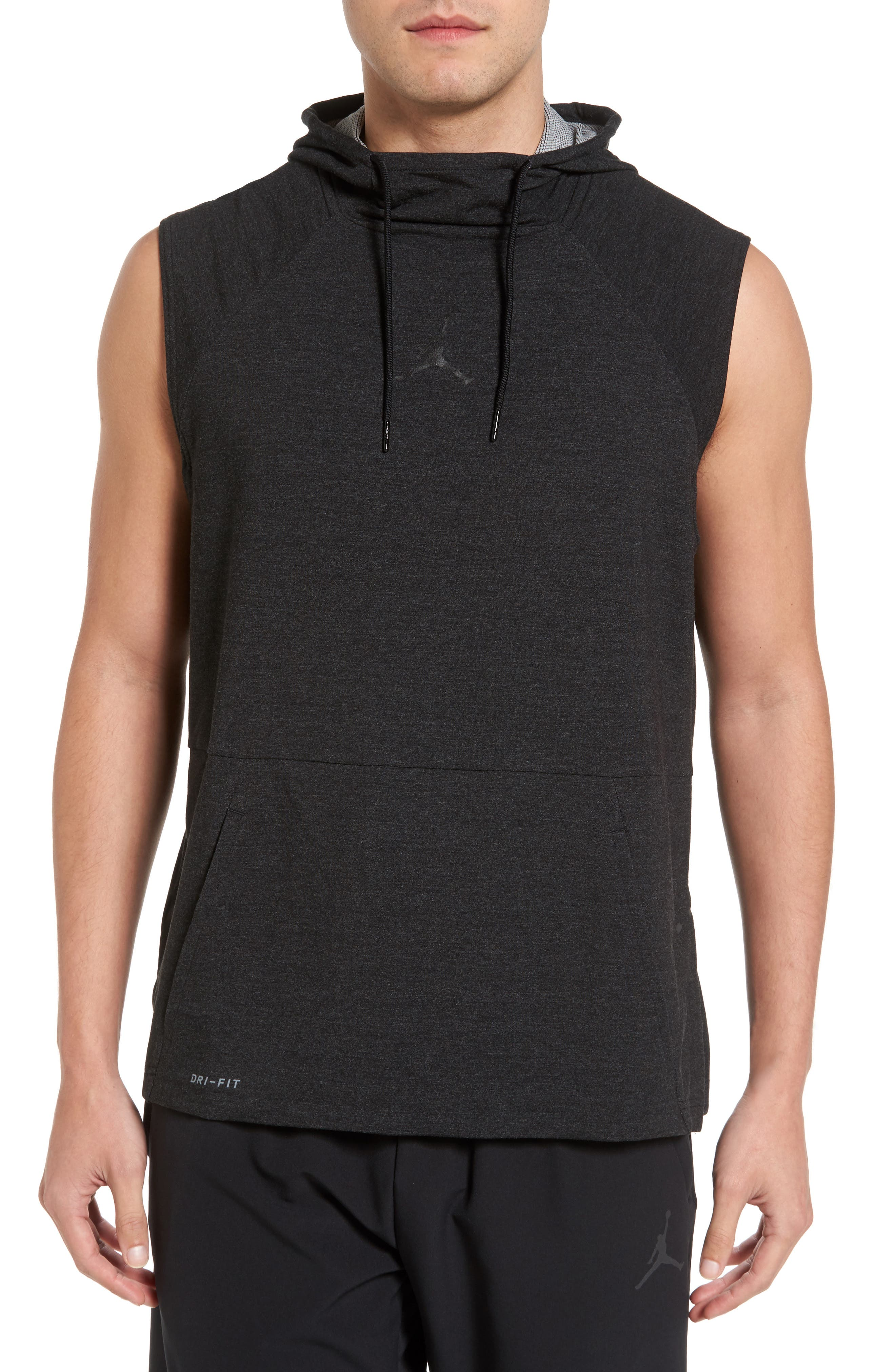 23 Tech Sphere Sleeveless Training Hoodie,                             Main thumbnail 1, color,                             010