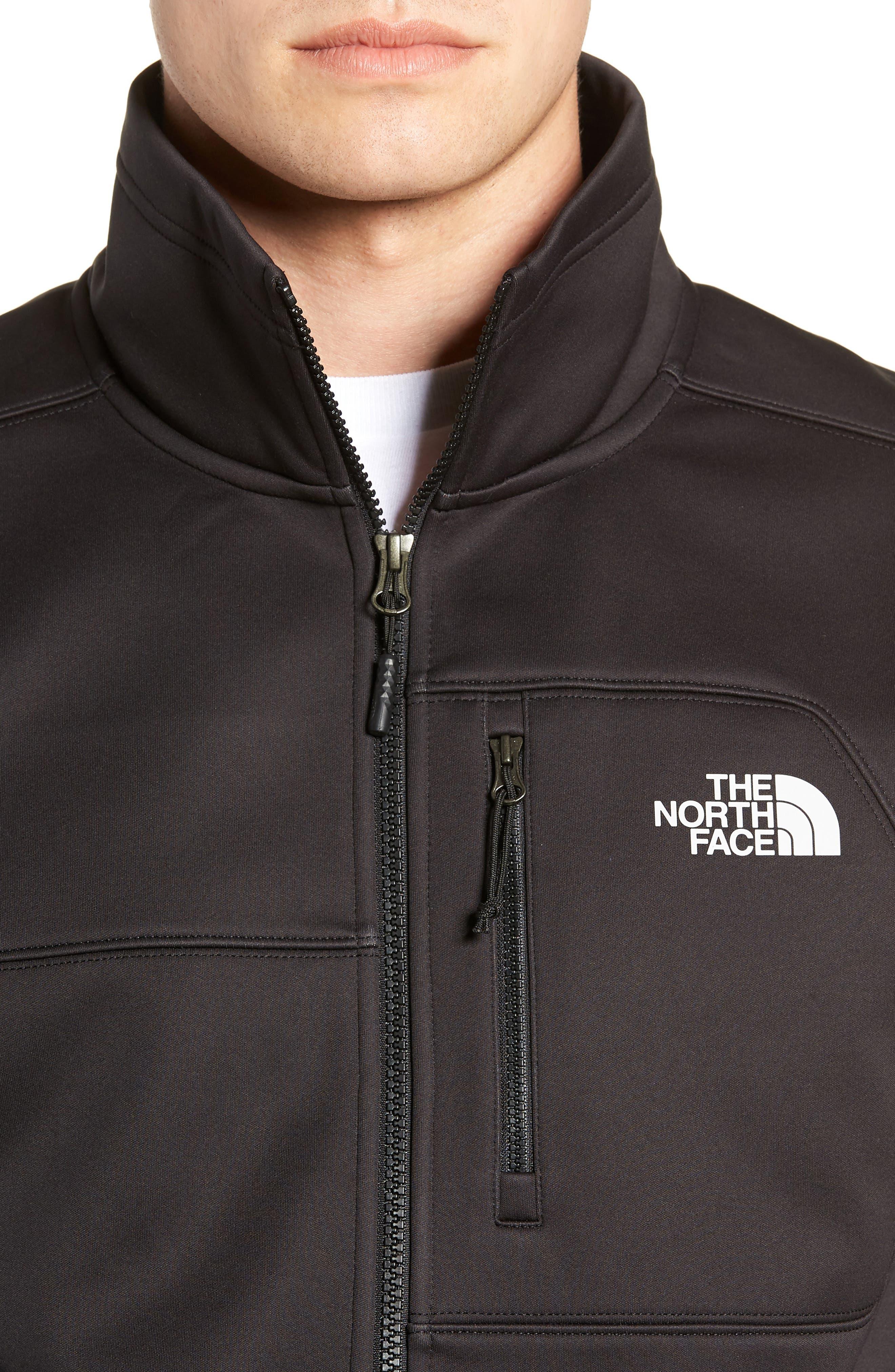 Apex Risor Jacket,                             Alternate thumbnail 4, color,                             TNF BLACK/ TNF BLACK