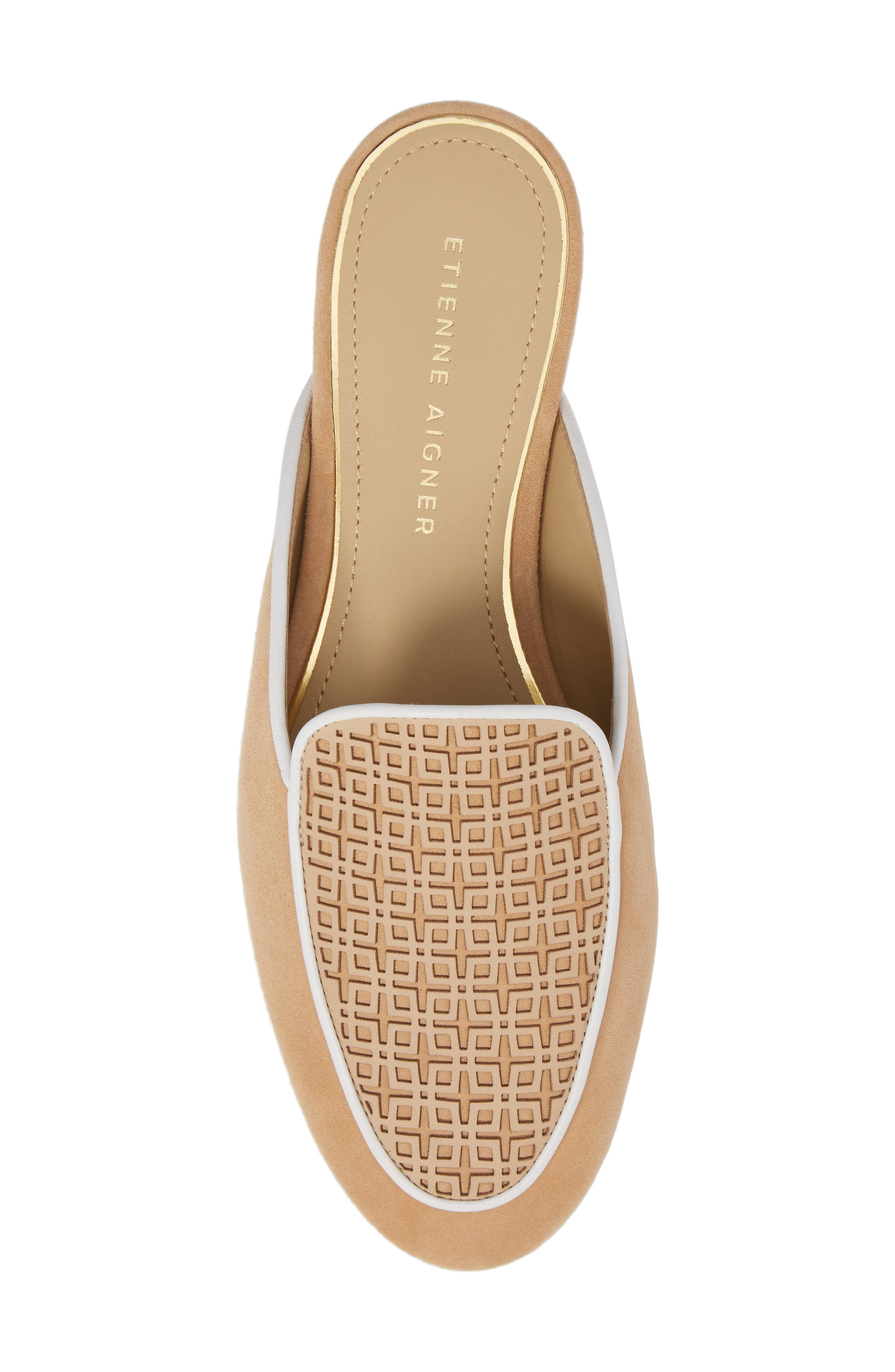 Caymen Mule,                             Alternate thumbnail 5, color,                             NATURAL/ FAWN/ WHITE