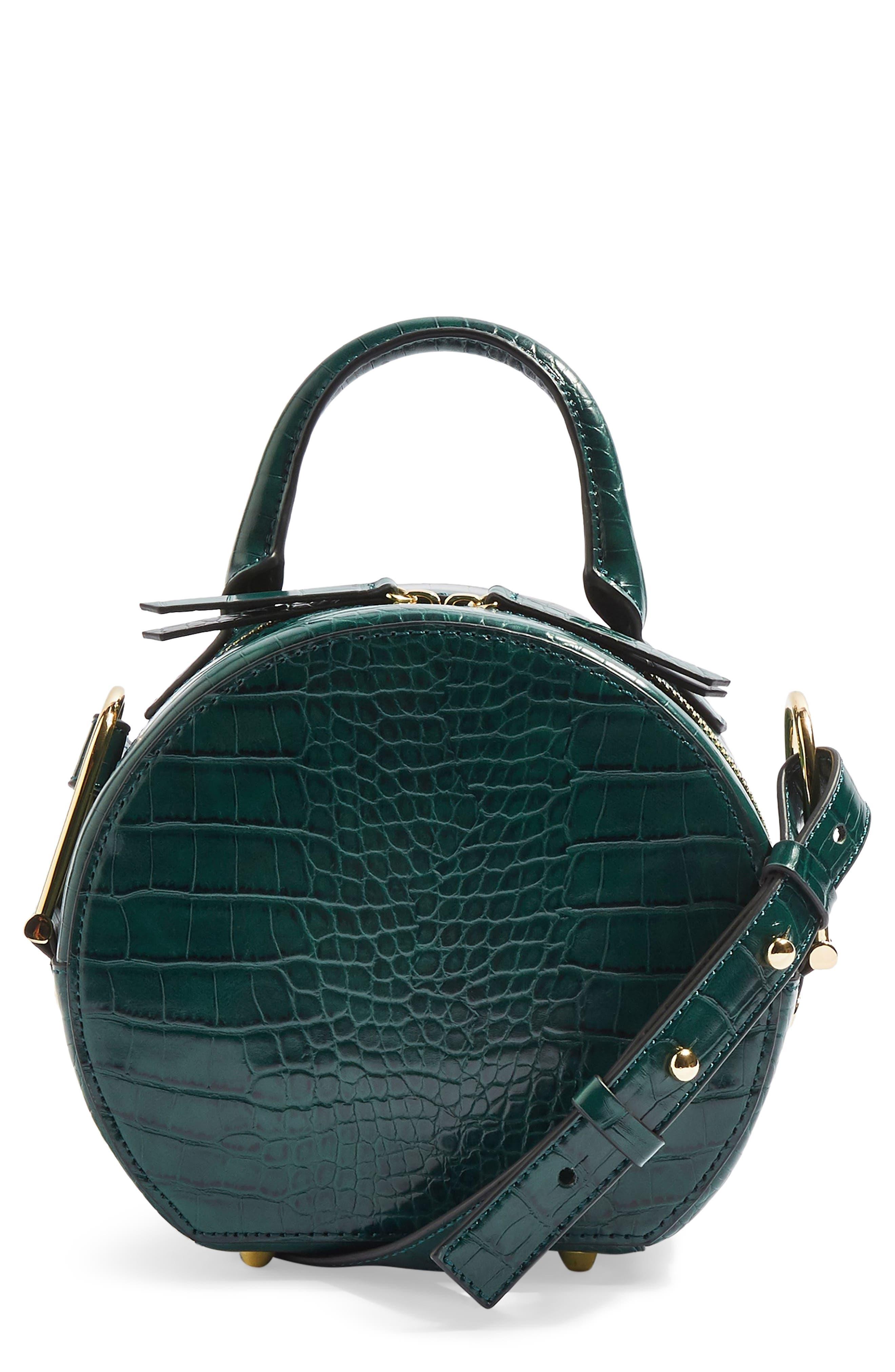 Blair Circle Bag,                         Main,                         color, GREEN
