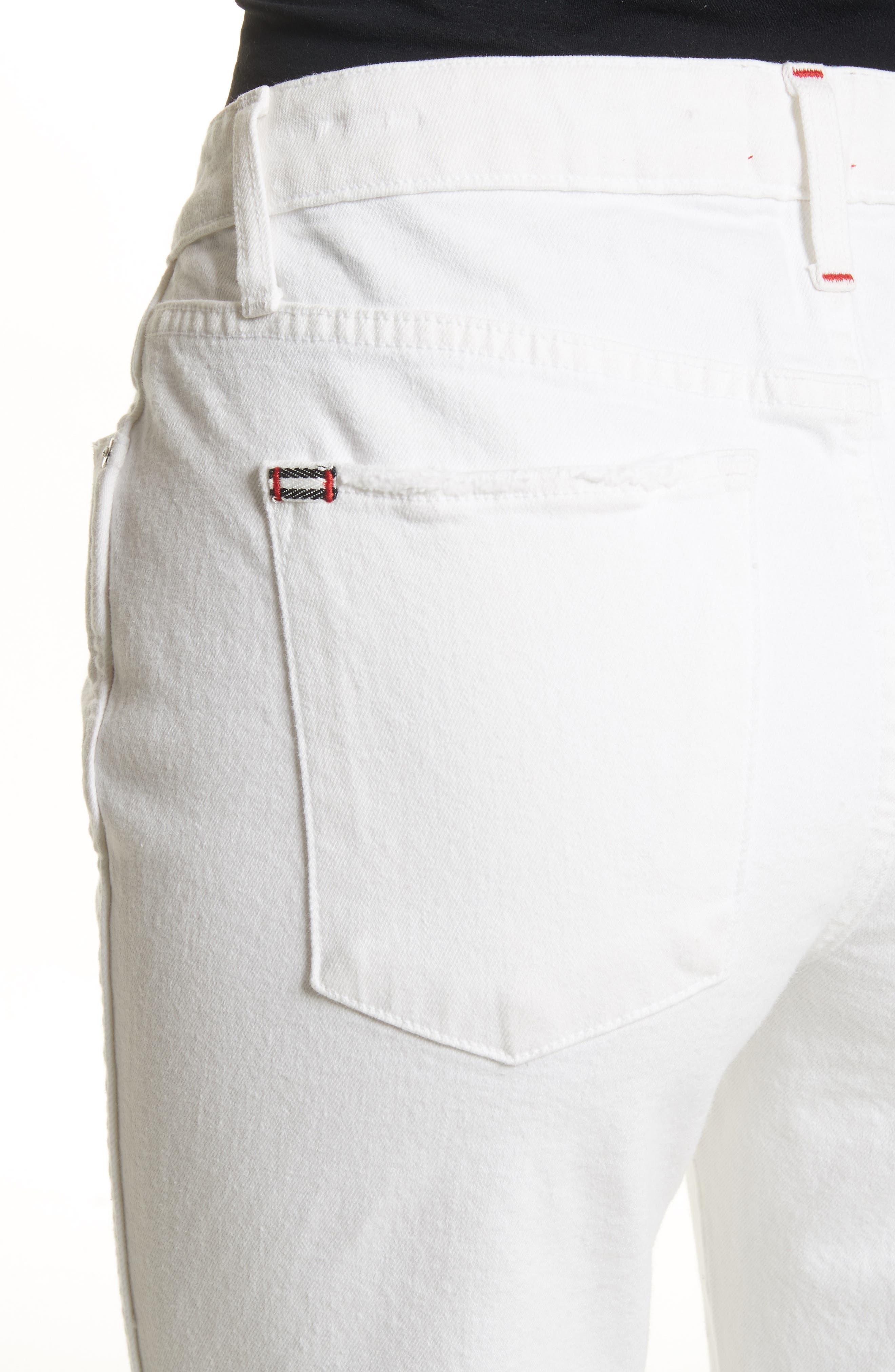 AO.LA Perfect Crop Kick Flare Jeans,                             Alternate thumbnail 4, color,                             160