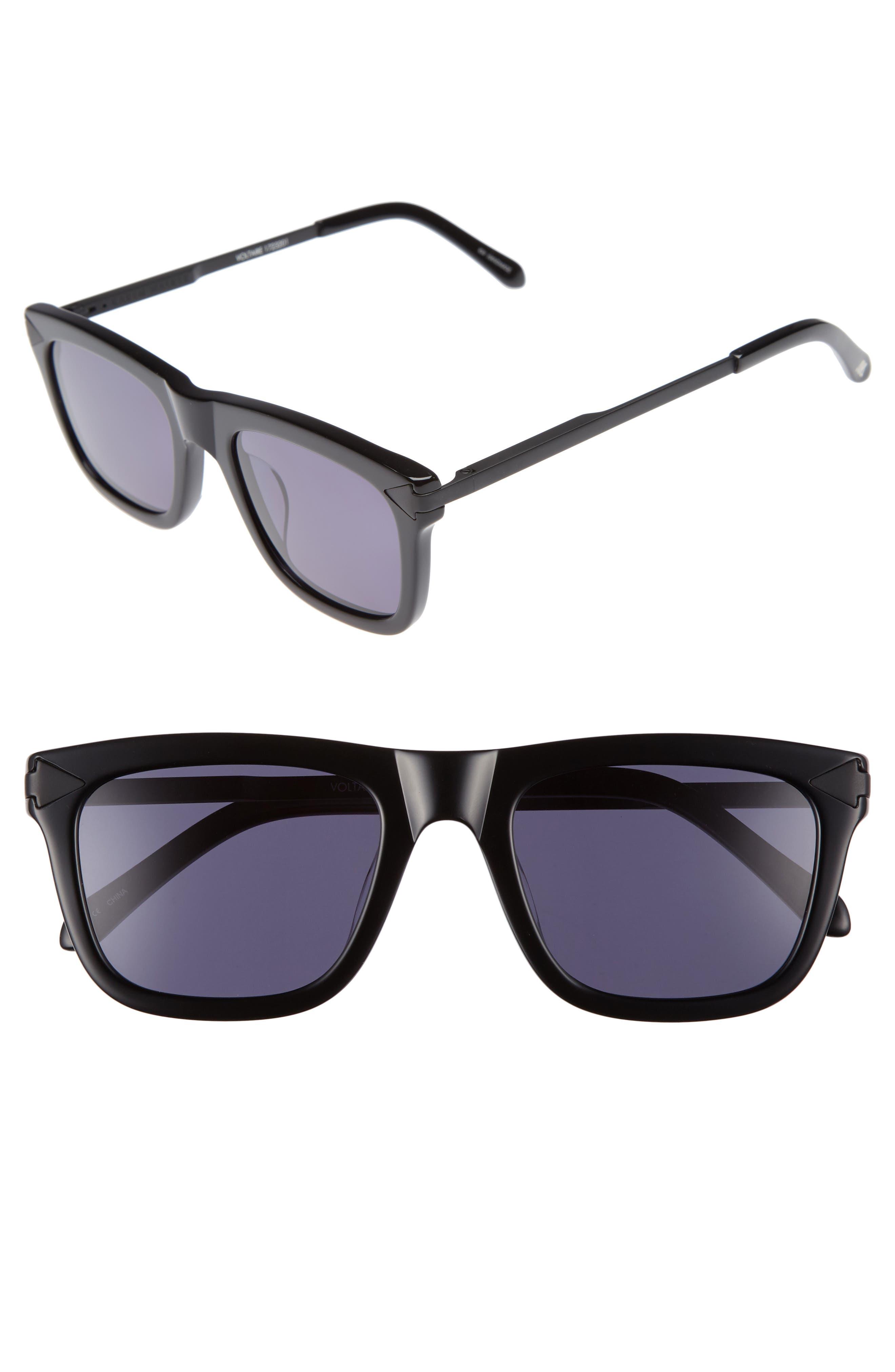 x Monumental Voltaire 51mm Polarized Sunglasses,                             Main thumbnail 1, color,                             001