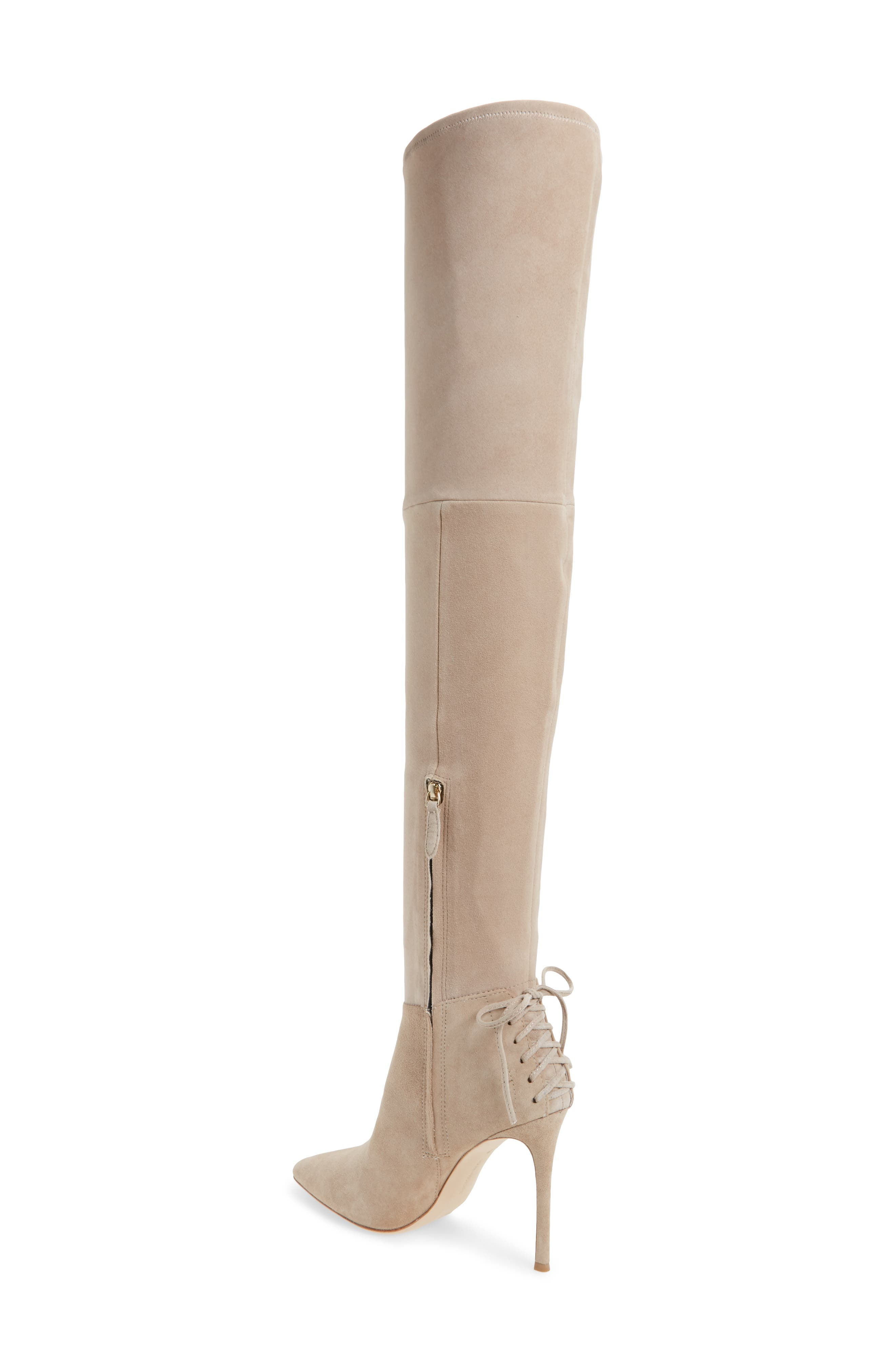 'Caterina' Over the Knee Boot,                             Alternate thumbnail 7, color,