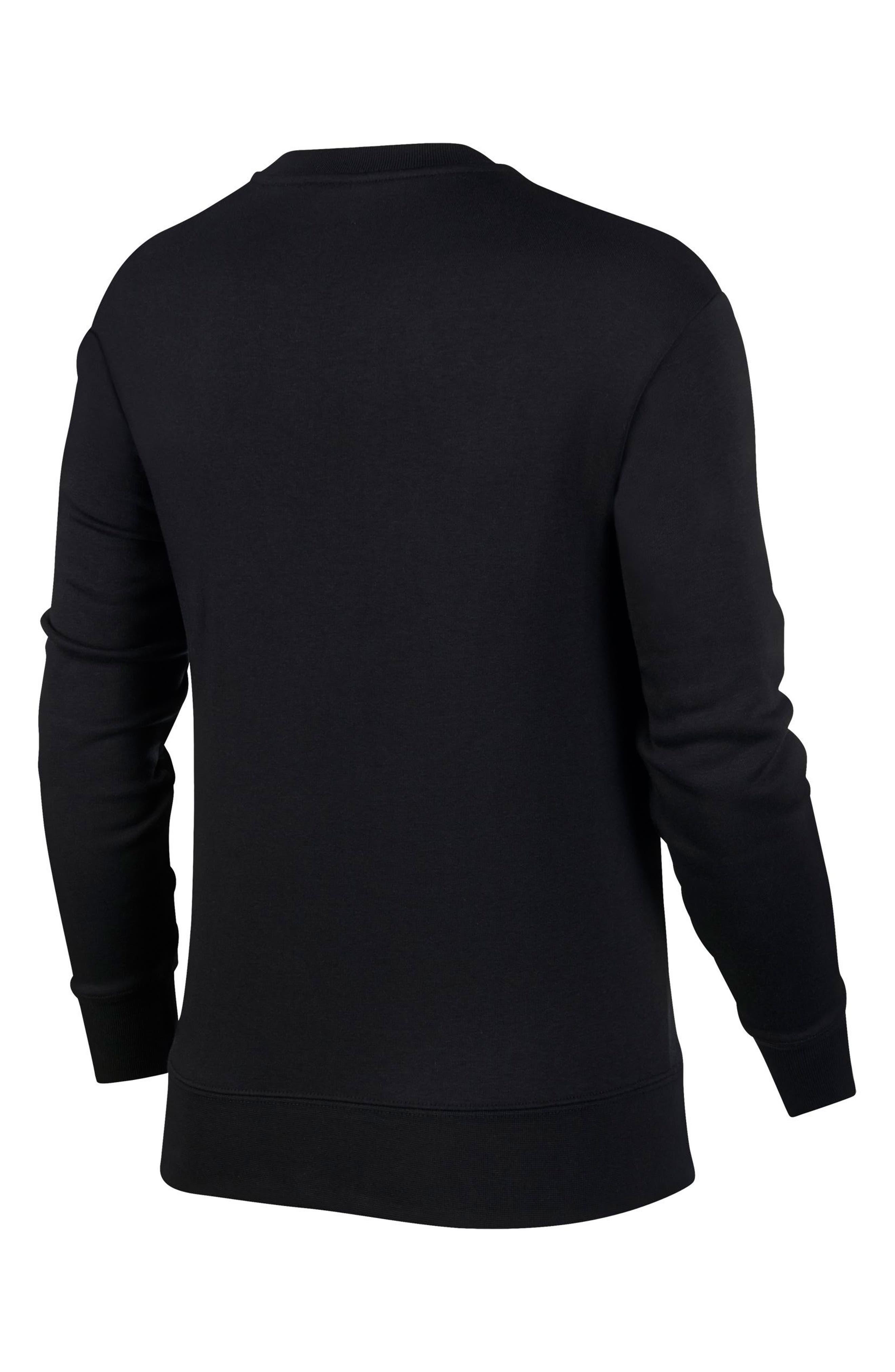 Sportswear Air Max 1 Women's Graphic Crewneck Sweatshirt,                             Alternate thumbnail 2, color,                             001