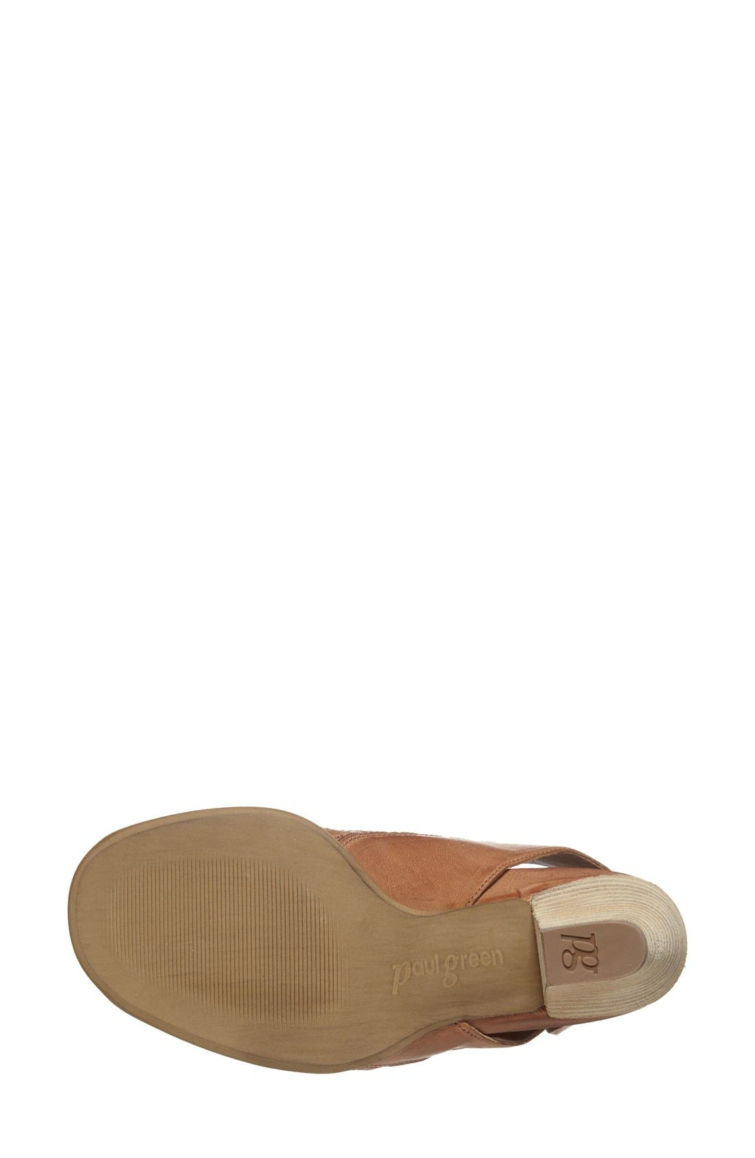 'Cayanne' Leather Peep Toe Sandal,                             Alternate thumbnail 31, color,