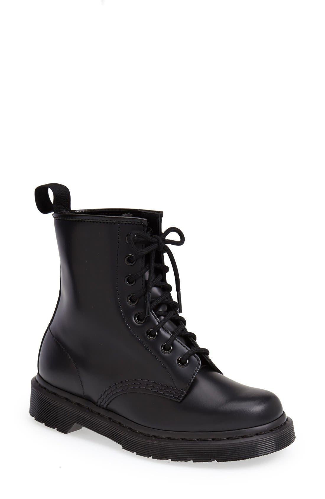 '1460 Mono' Boot,                             Main thumbnail 1, color,                             001