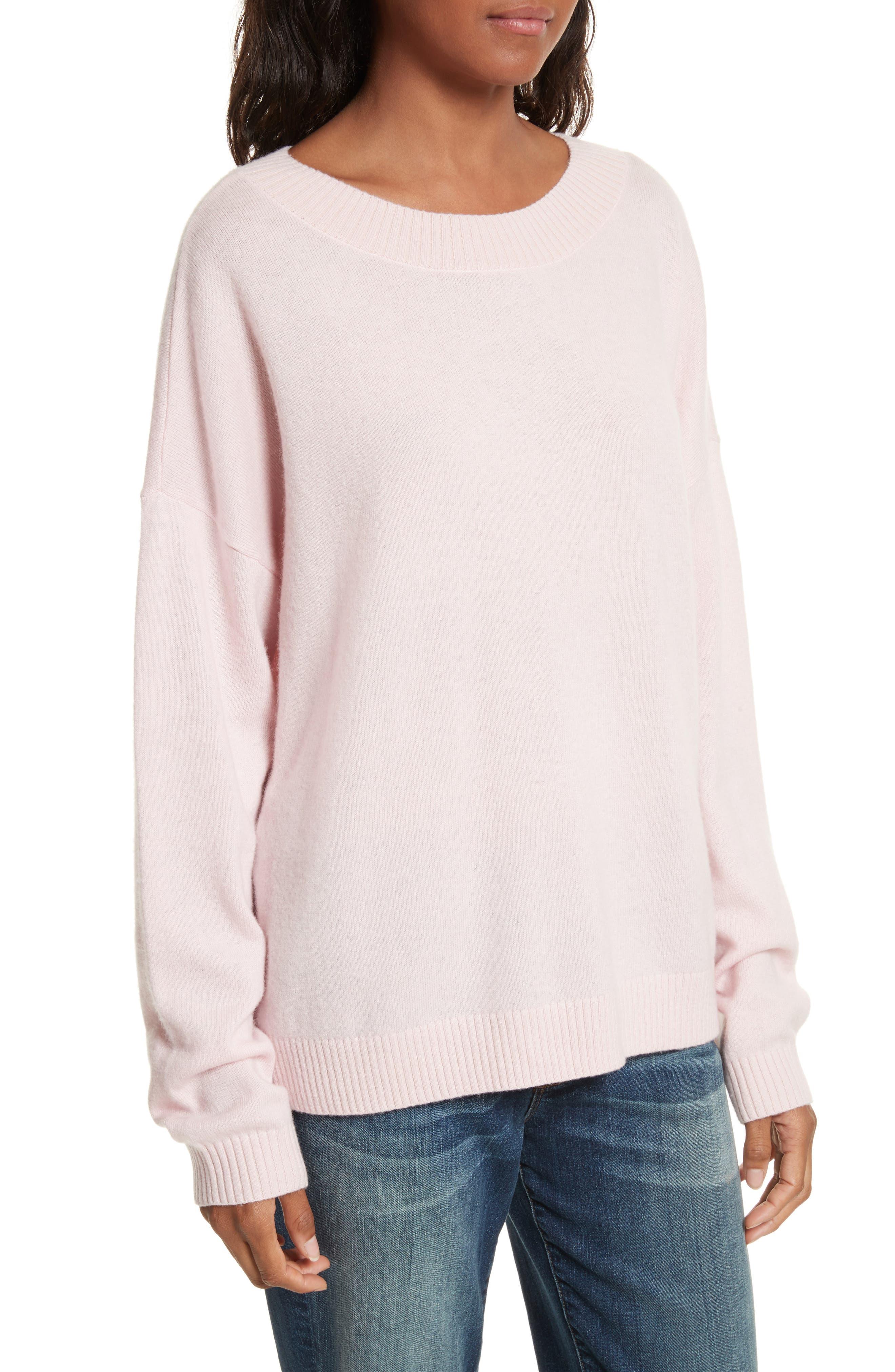 Boyfriend Sweater,                             Alternate thumbnail 4, color,                             650