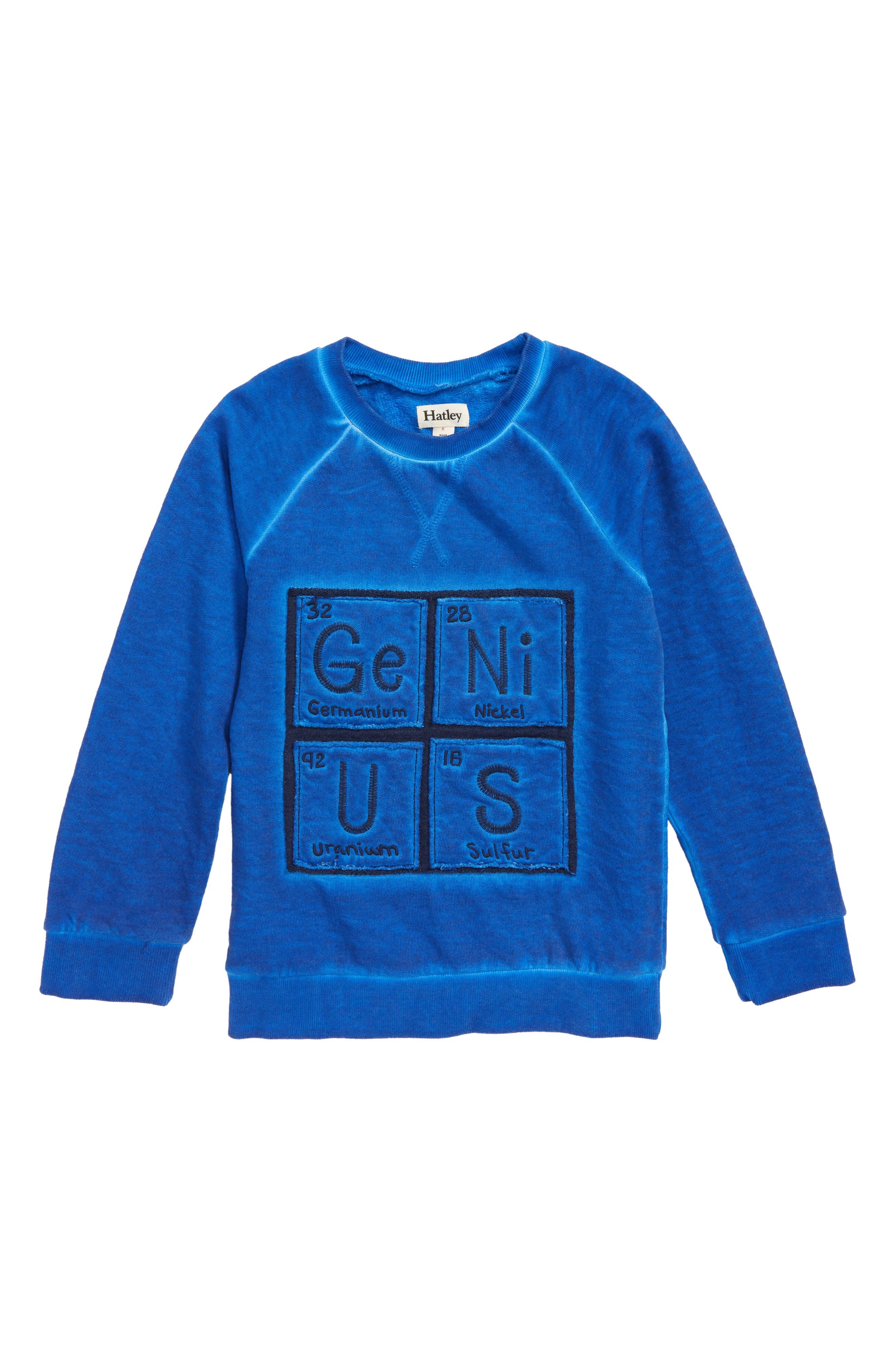 Periodic Table Sweatshirt,                         Main,                         color, 400