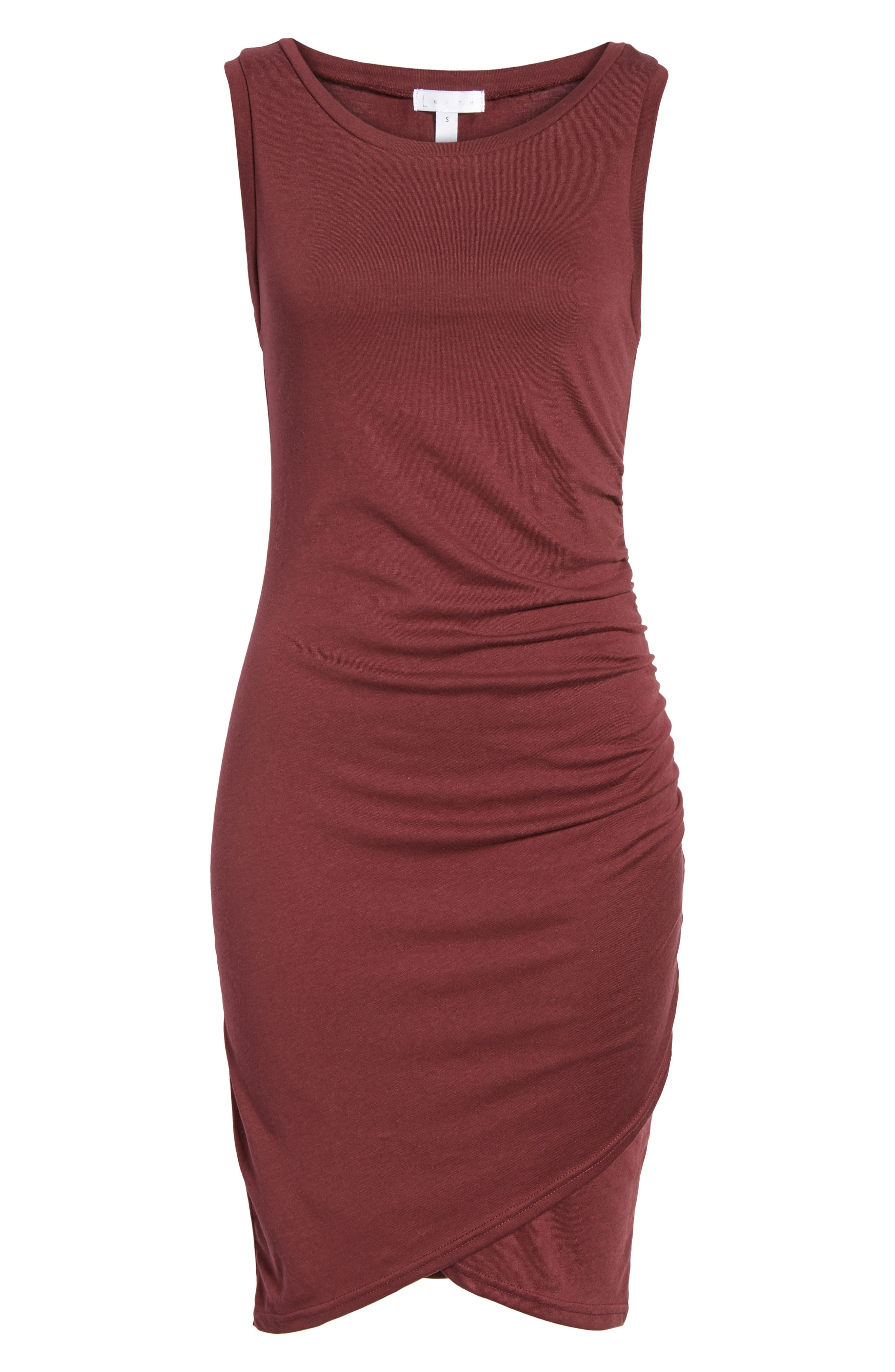 Ruched Body-Con Tank Dress,                             Alternate thumbnail 174, color,